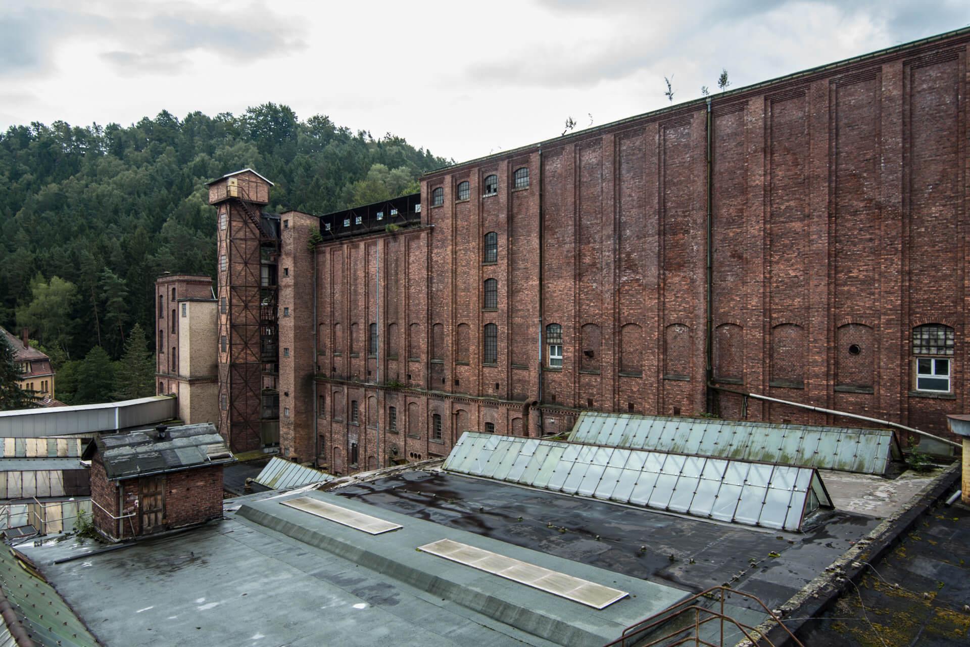 ehemalige Linoleumfabrik Kohlmühle