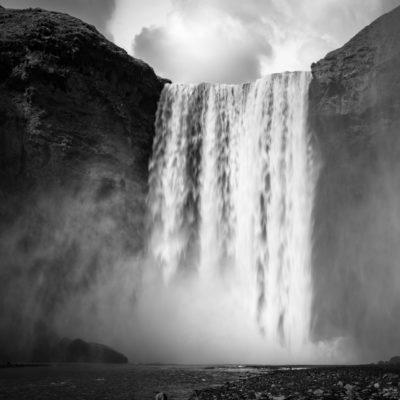 Iceland monochrome