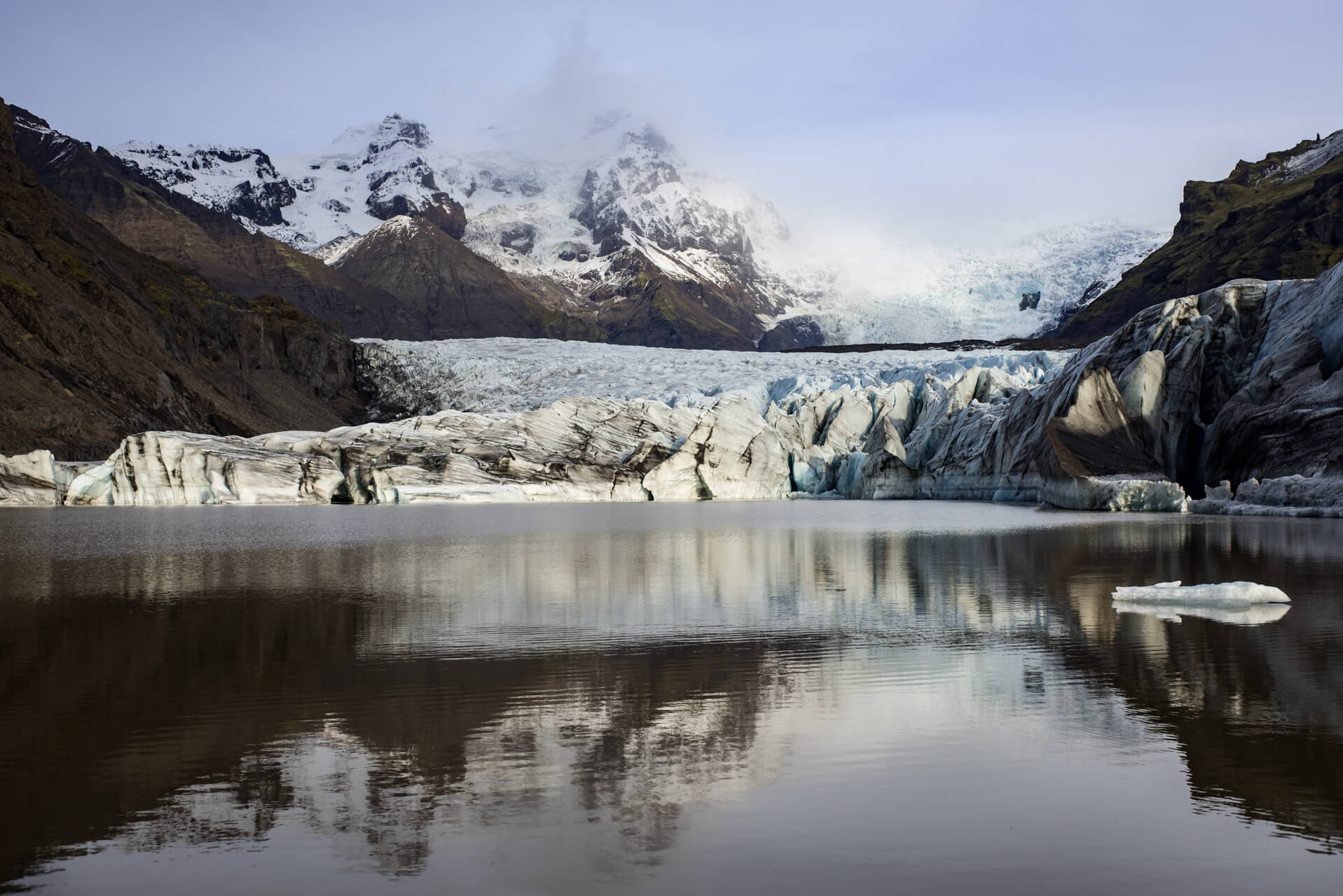 Island, Svínafellsjökull; Fotograf Steffen Lohse