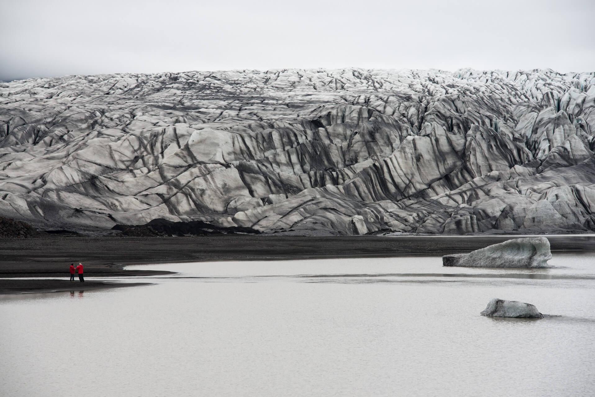 Island, Skaftafelljökull; Fotograf Steffen Lohse