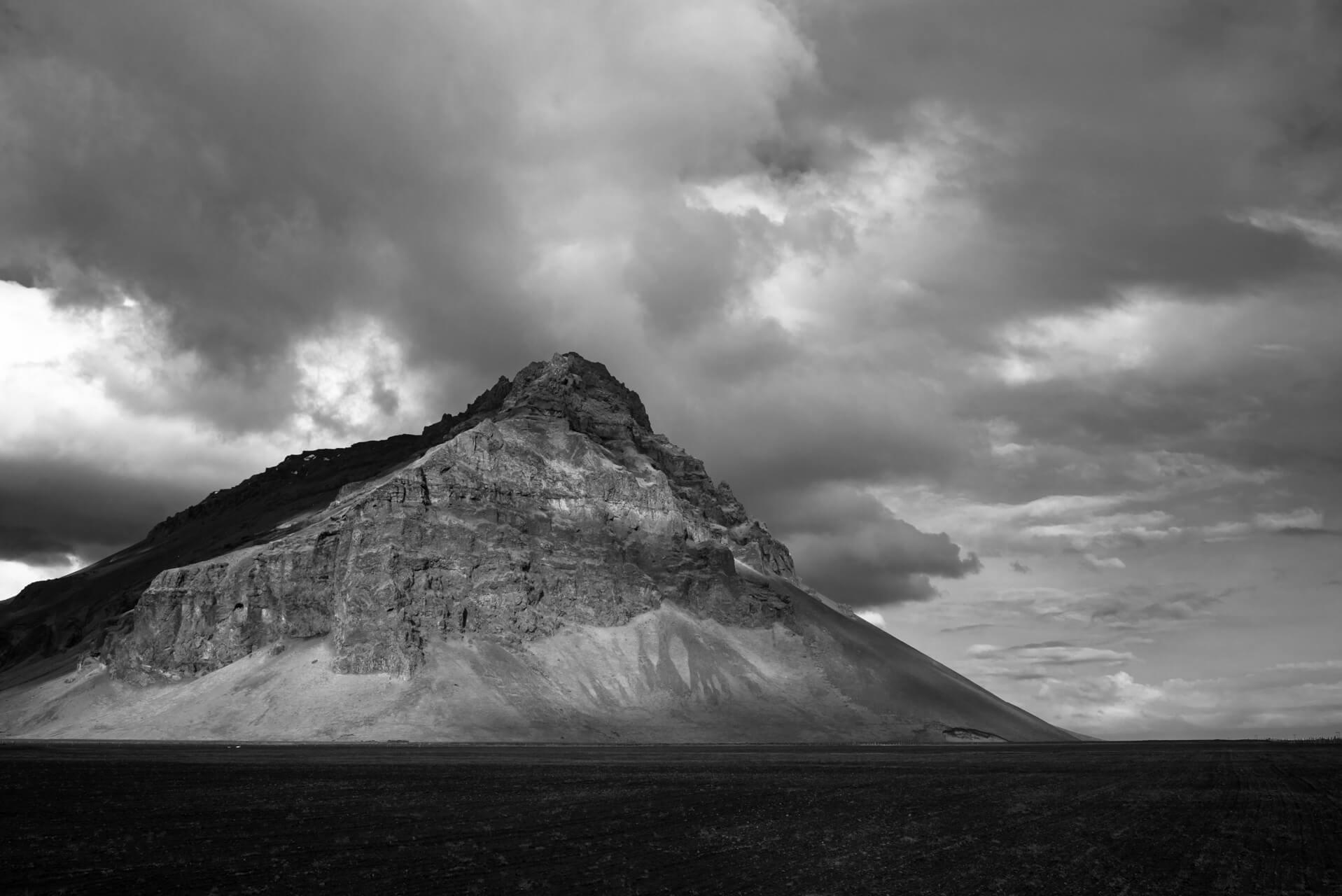 Island monochrom; Fotograf Steffen Lohse