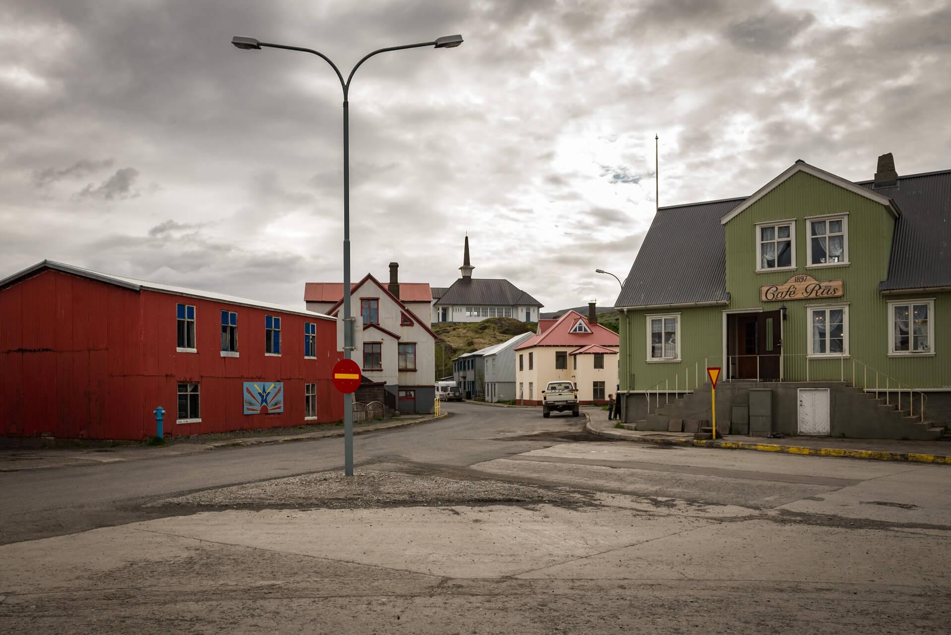 Holmavik, Island; Fotograf Steffen Lohse