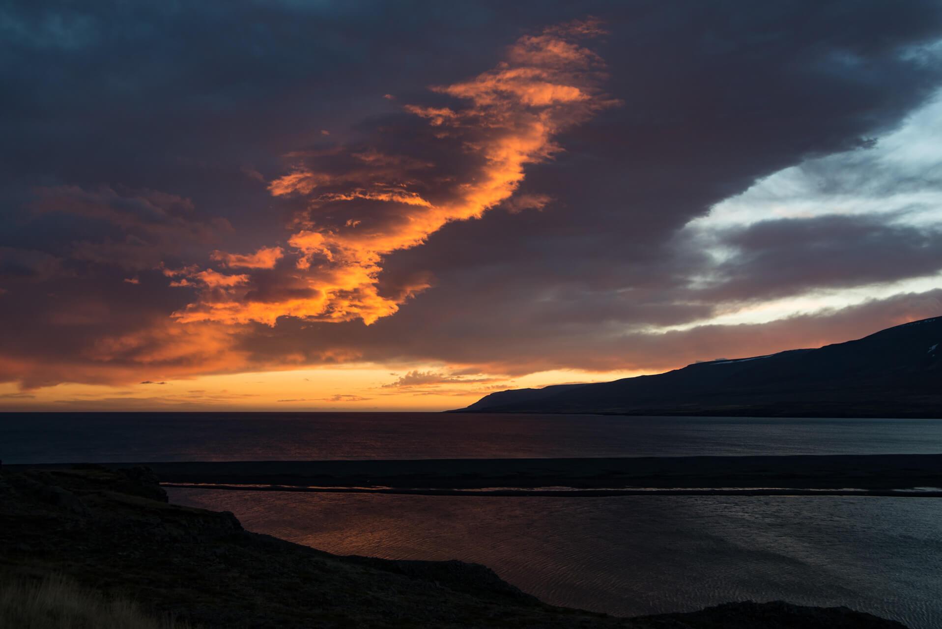 Island Oktobermorgen; Fotograf Steffen Lohse