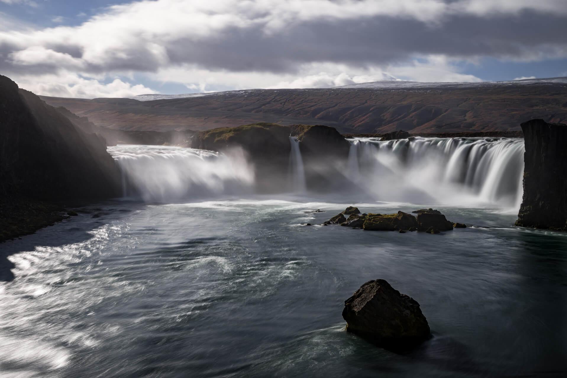 Island, Goðafoss, Oktober 2014; Fotograf Steffen Lohse