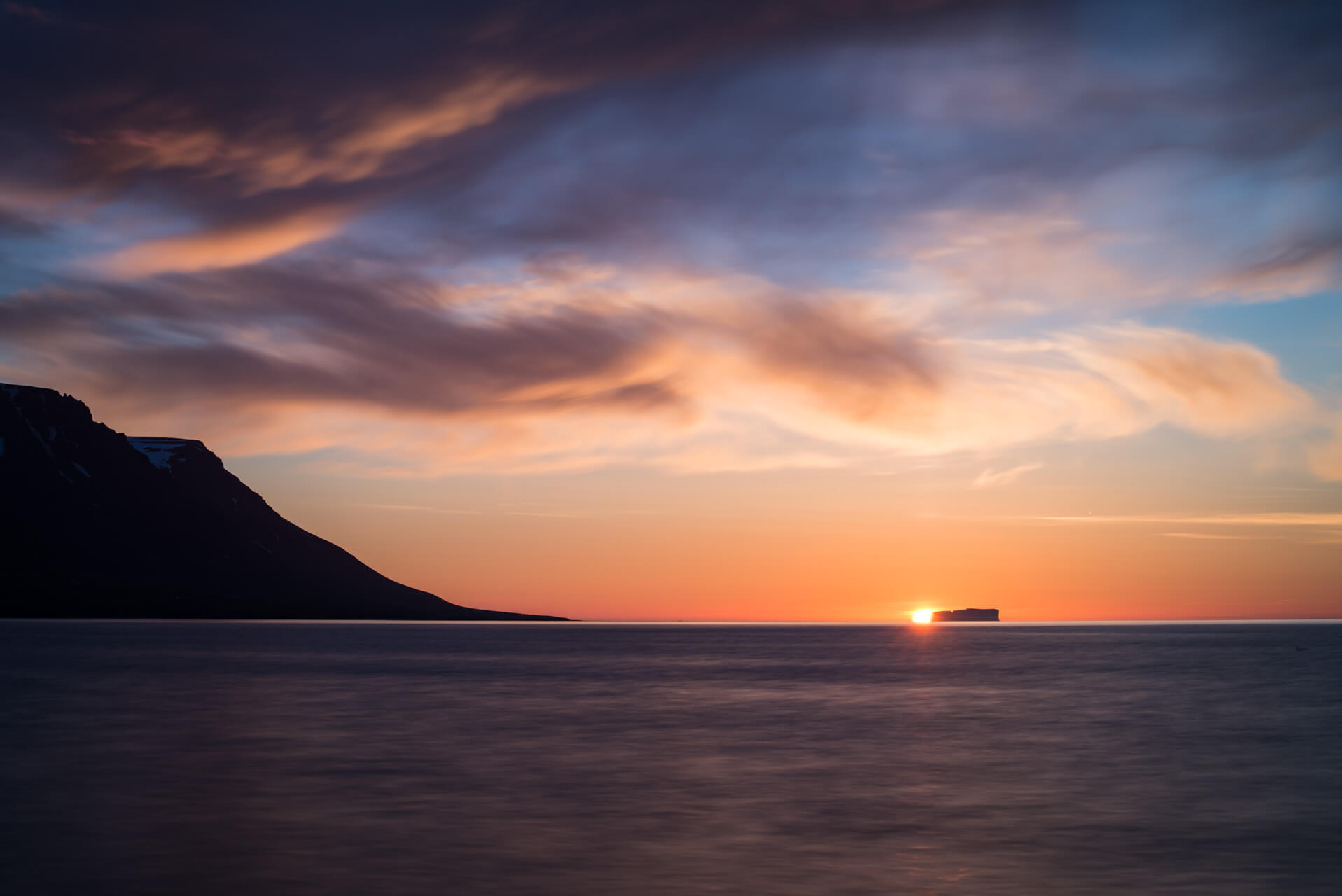 Island, Mitternachtssonne; Fotograf Steffen Lohse