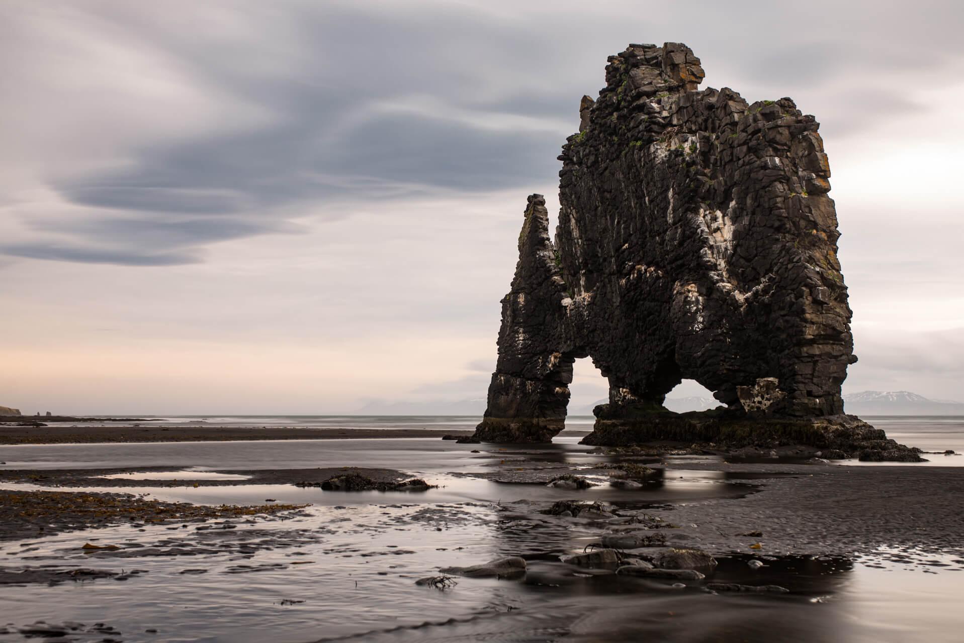 Island, Hvítserkur; Fotograf Steffen Lohse