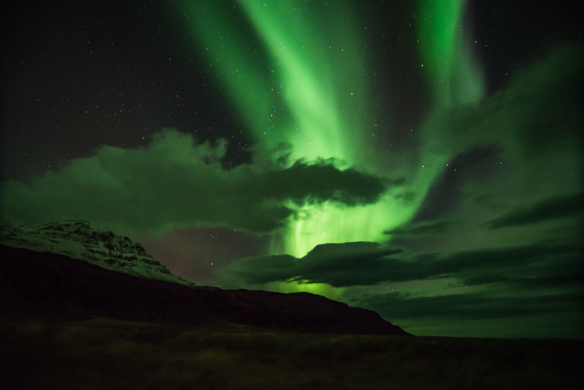 aurora borealis; Fotograf Steffen Lohse