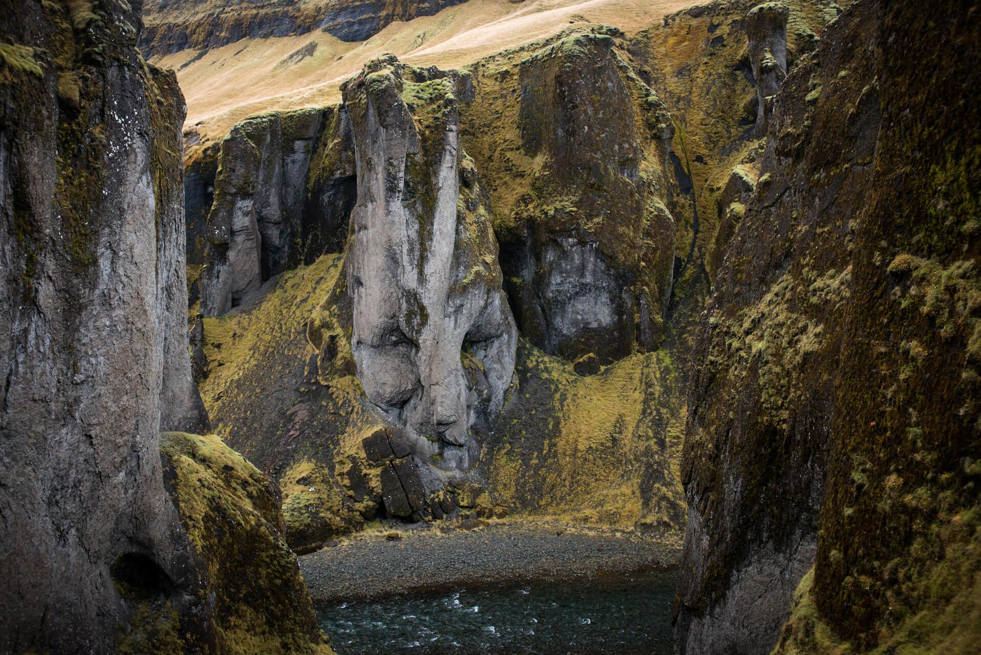 Island, Fjaðrárgljúfur; Fotograf Steffen Lohse