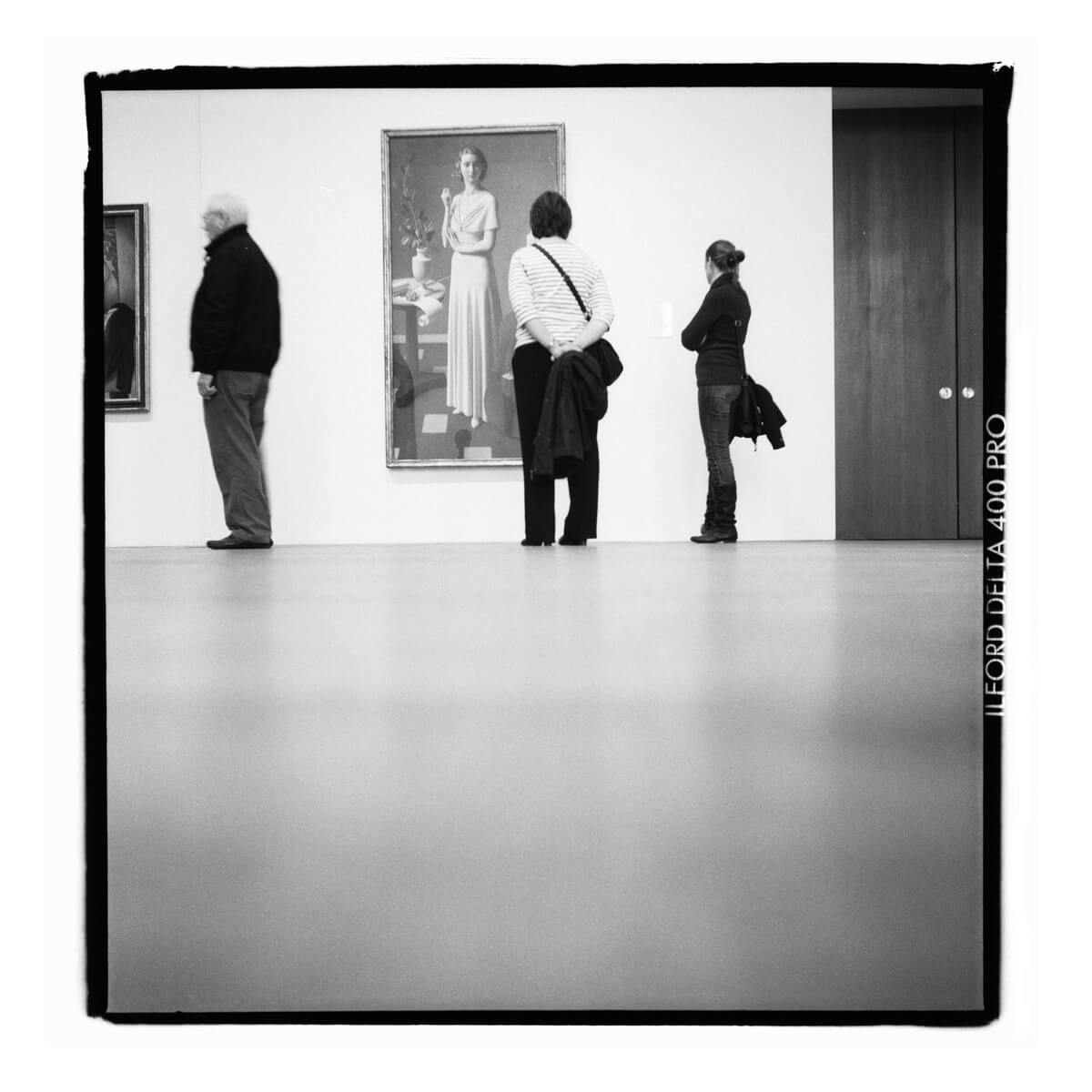 London, Gallery Visitors, Fotograf Steffen Lohse