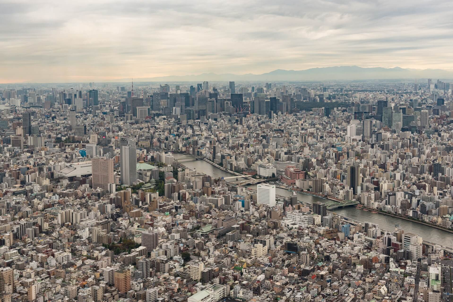 Japan: Tokyo - seen from Sky Tree, Fotograf: Steffen Lohse