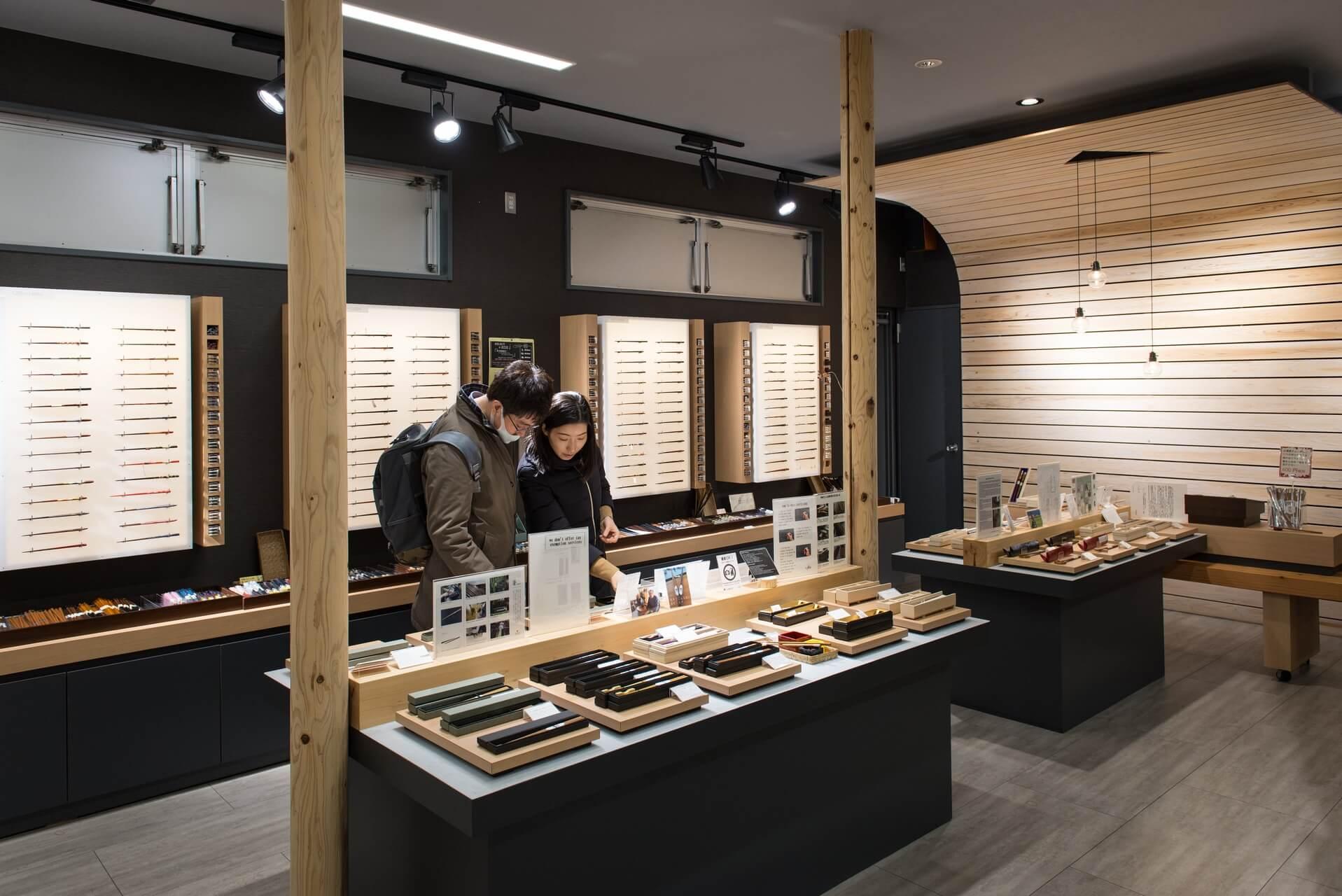 Japan Tokyo Geschäft für Stäbchen