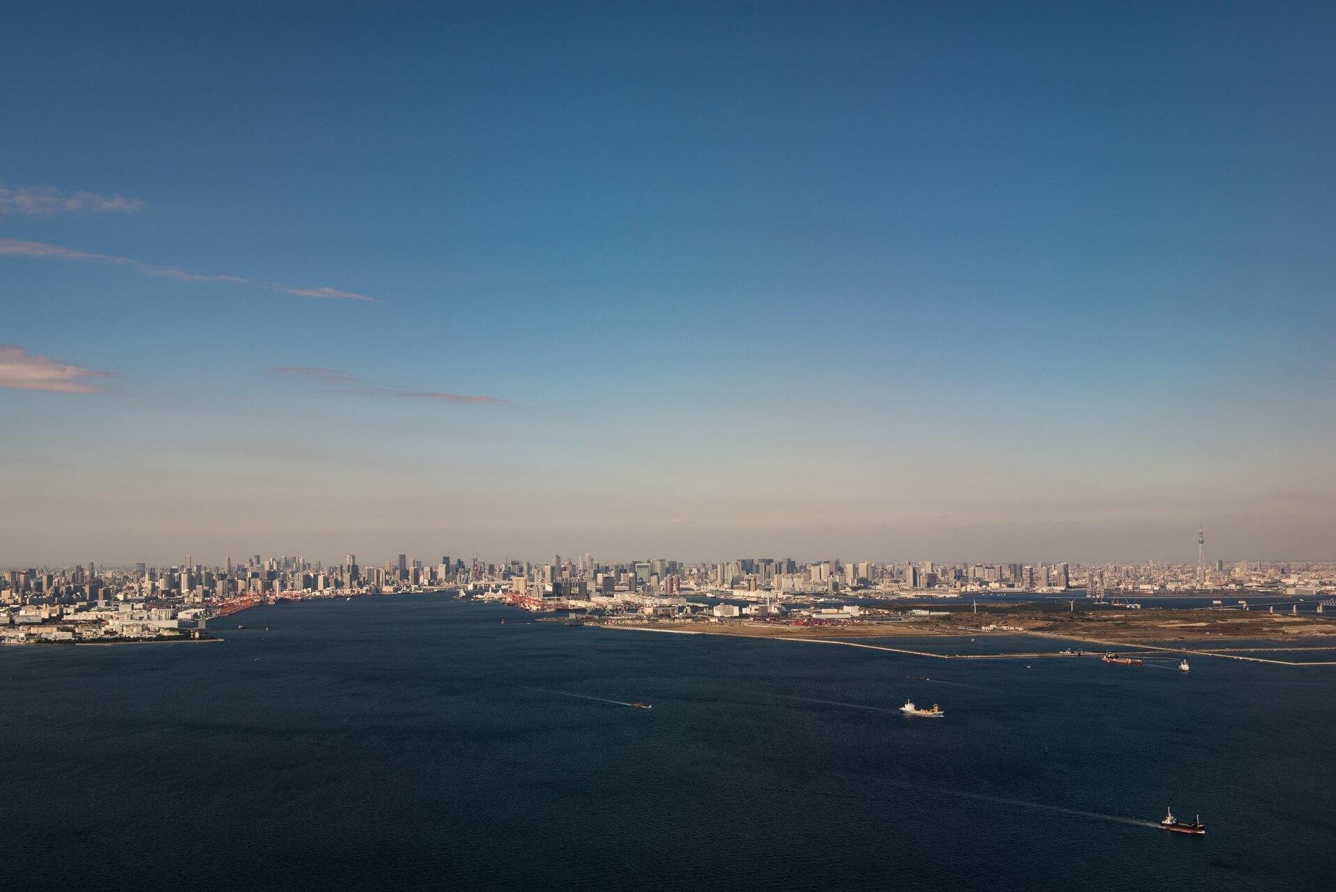 Japan: Tokyo Bay, Fotograf: Steffen Lohse