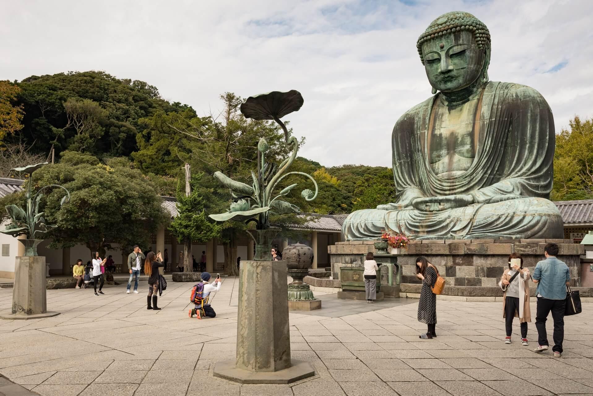 Japan: Daibutsu in Kamakura, Fotograf: Steffen Lohse