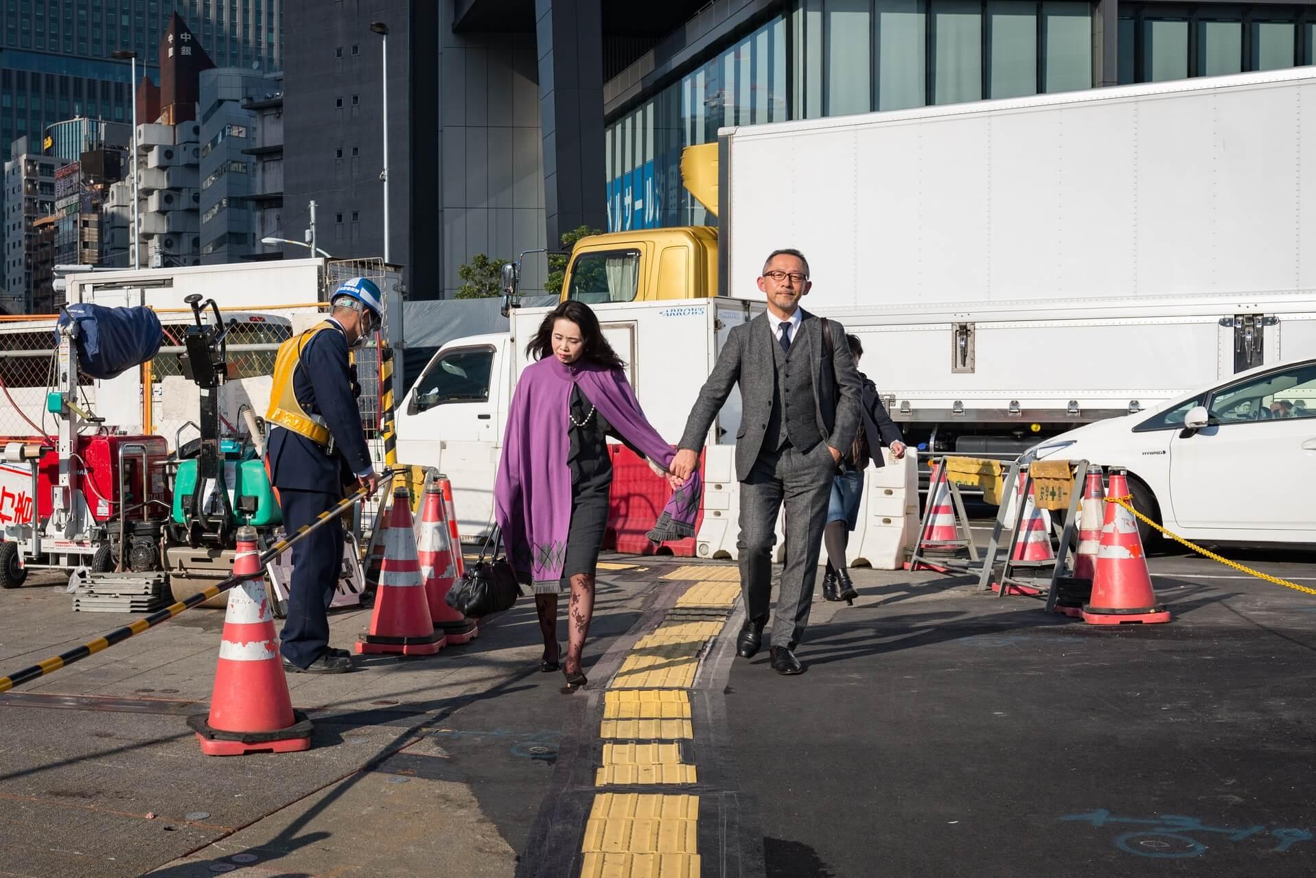 Japan Tokyo Pärchen Hand in Hand
