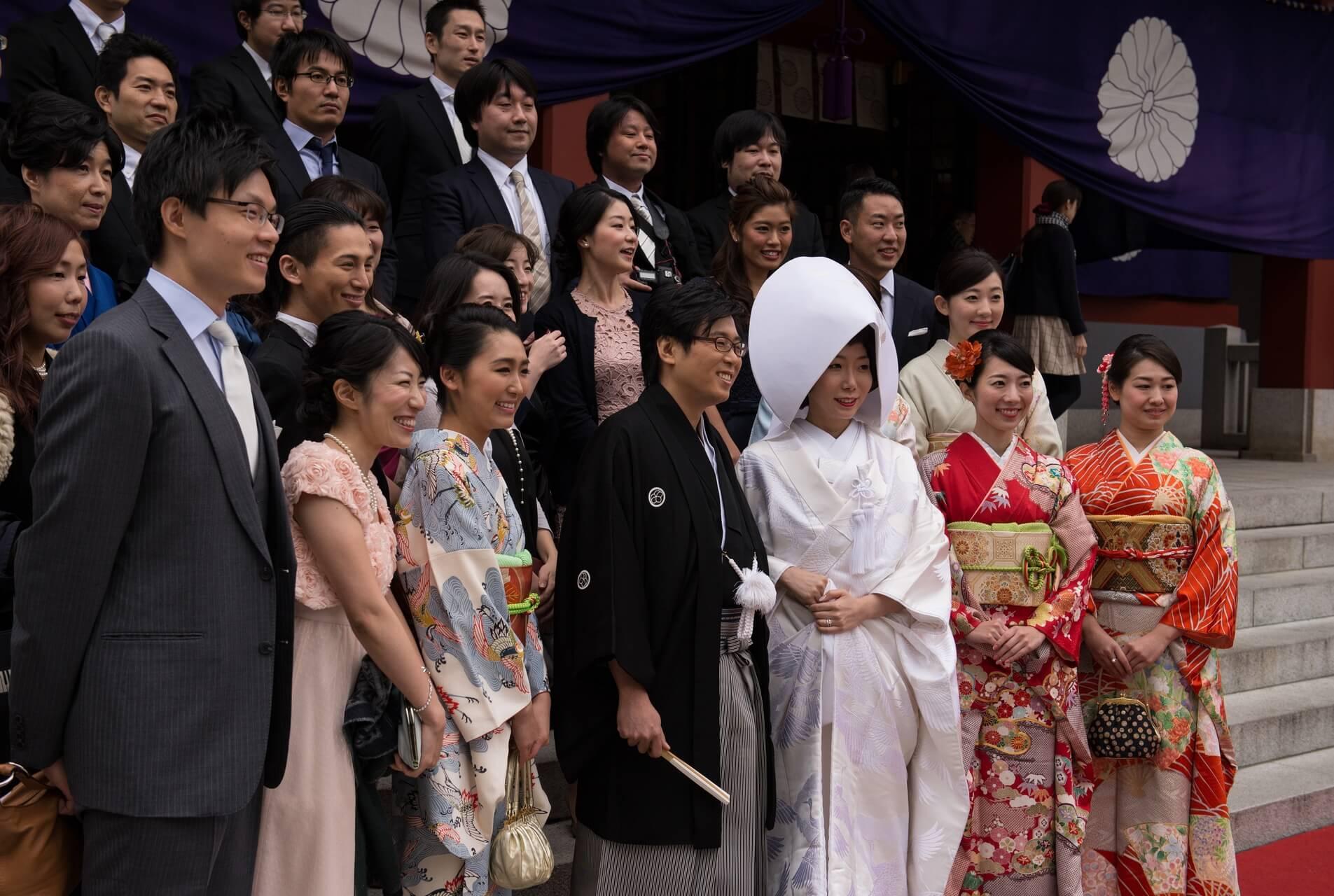 Japan Tokyo Hochzeit