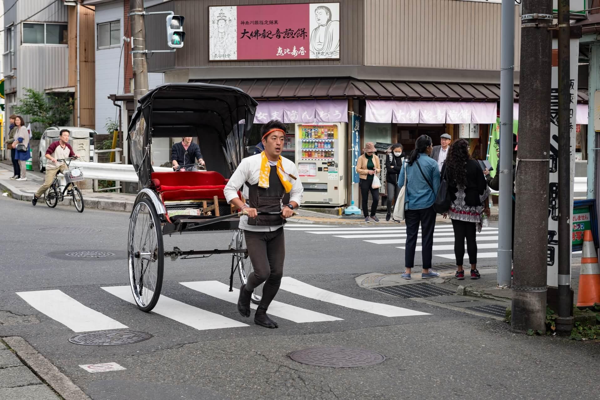 Japan Kamakura Rikscha