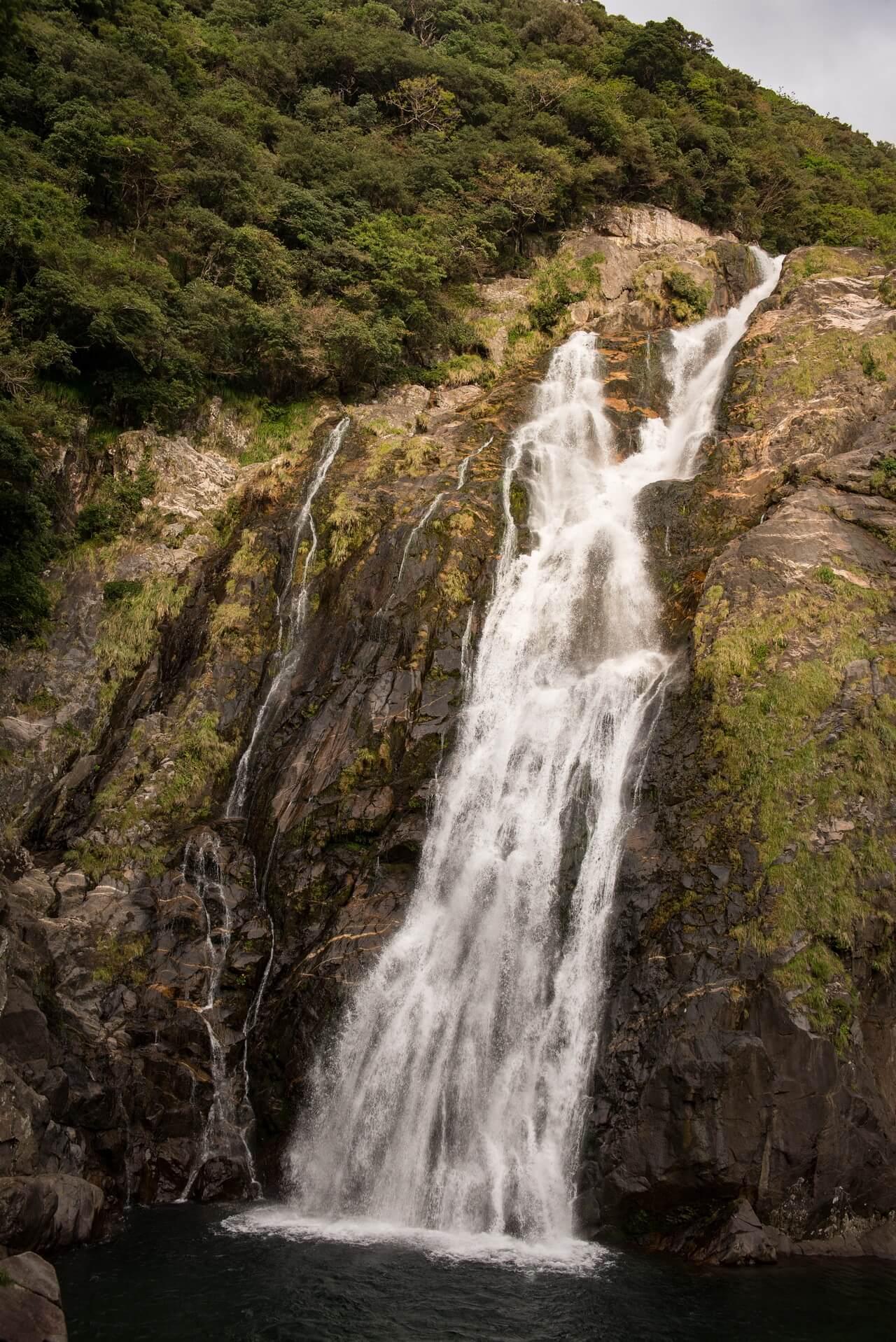 Japan: Yakushima Island waterfall Oko-no-taki, Fotograf: Steffen Lohse