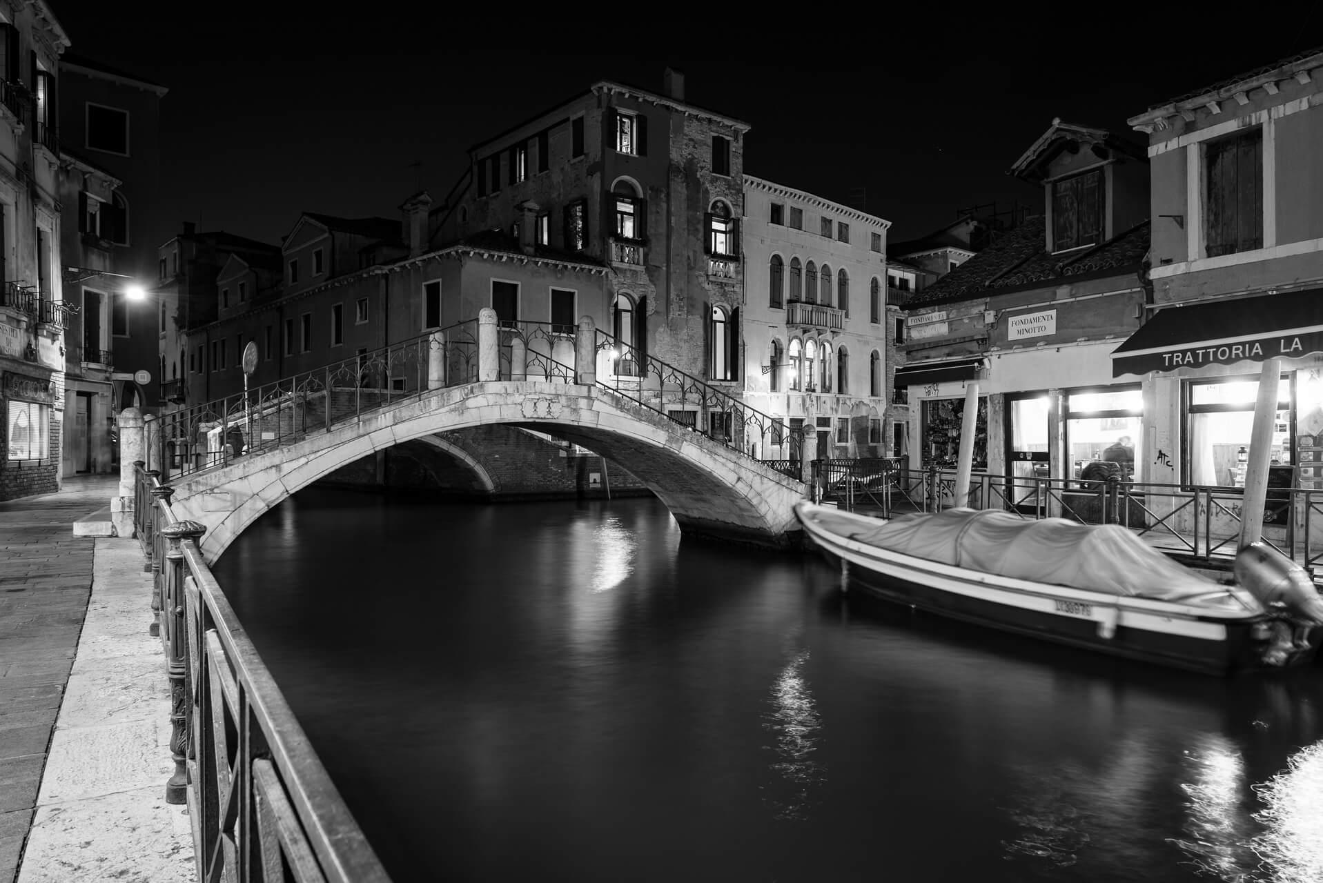 Italien: Venedig bei Nacht, Fotograf: Steffen Lohse