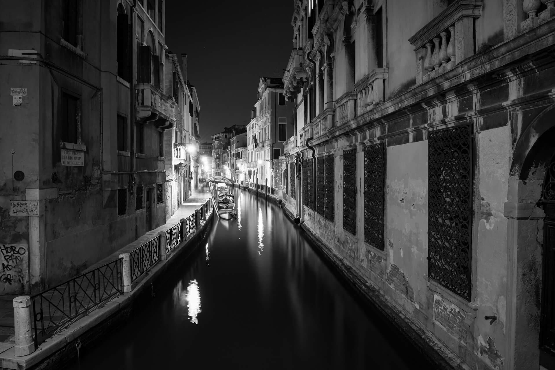 Italien: Venedig bei NachtItalien: Venedig Italy: Venice, Fotograf: Steffen Lohse