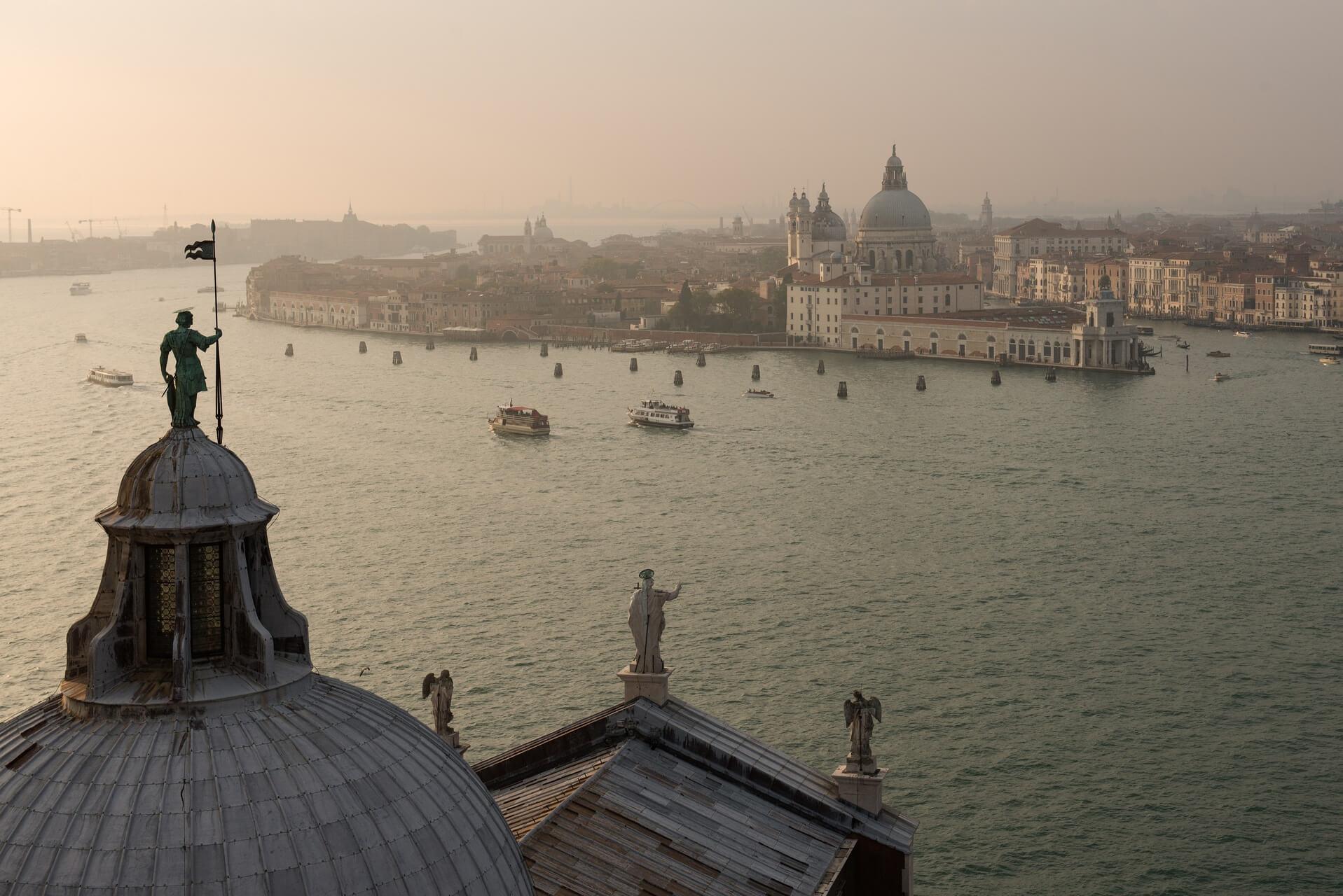 Italien: Venedig Italiy: Venice Santa Maria della Salute, Fotograf: Steffen Lohse