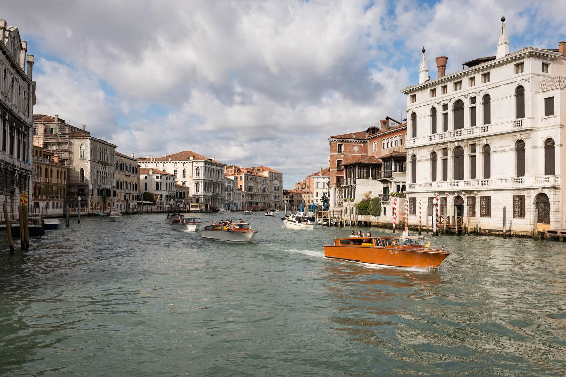 Italien: Venedig Italiy: Venice Canal Grande, Fotograf: Steffen Lohse