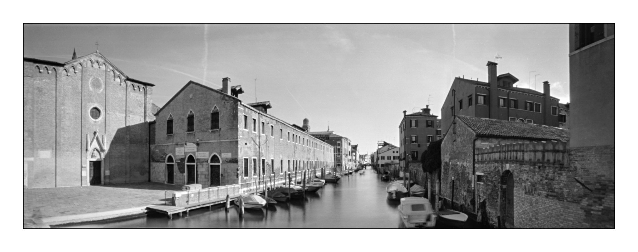 Venedig - Canareggio, Lochkamera 16x7 analog: Venedig, Fotograf: Steffen Lohse