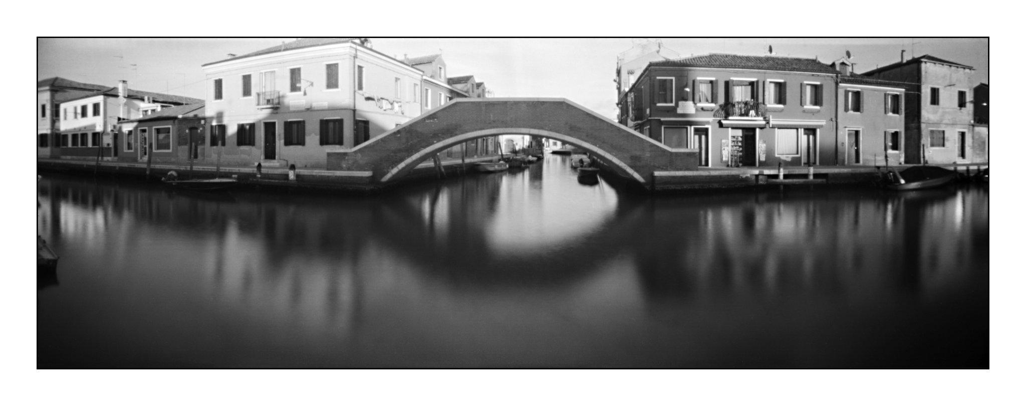 Murano, Lochkamera 16x7 analog: Venedig, Fotograf: Steffen Lohse