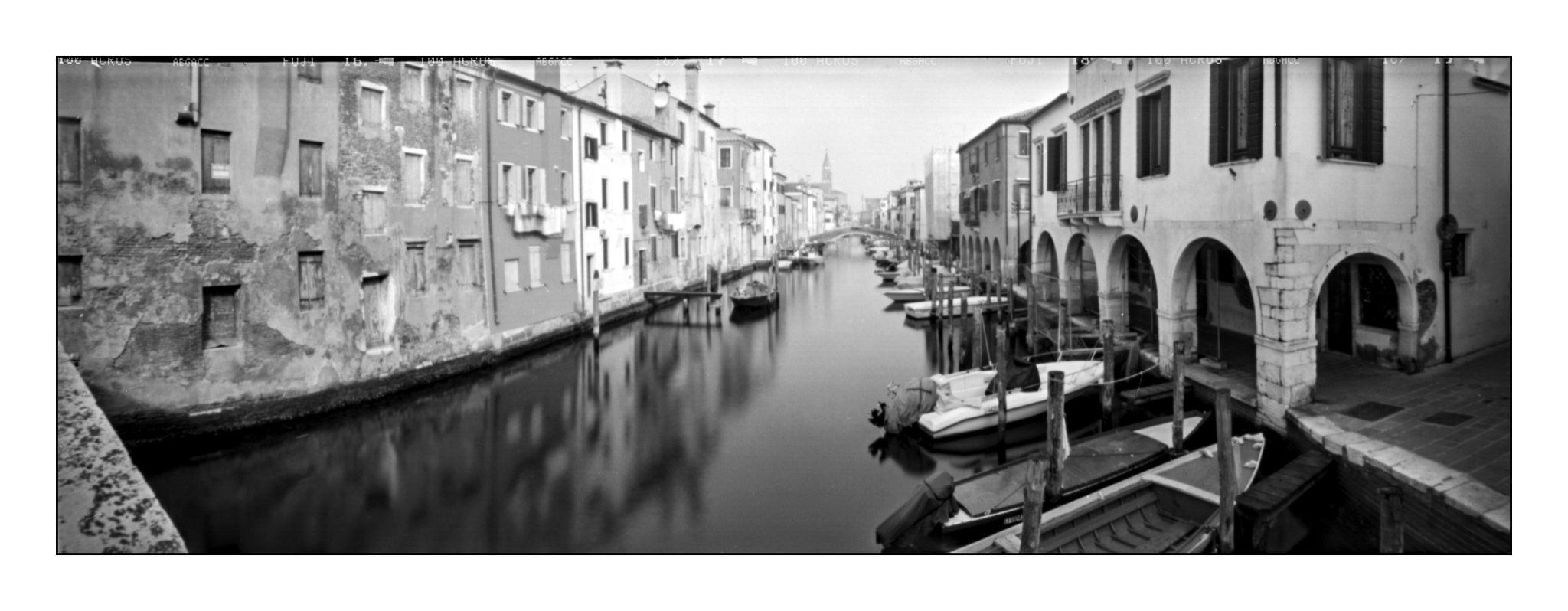 Chioggia, Lochkamera 16x7 analog: Venedig, Fotograf: Steffen Lohse