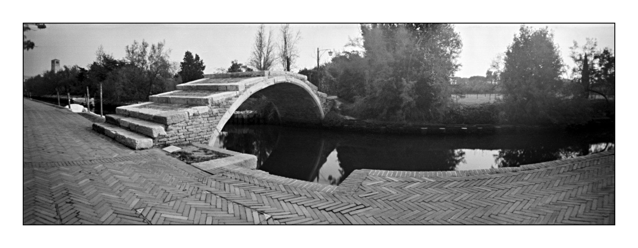 Torcello, Lochkamera 16x7 analog: Venedig, Fotograf: Steffen Lohse