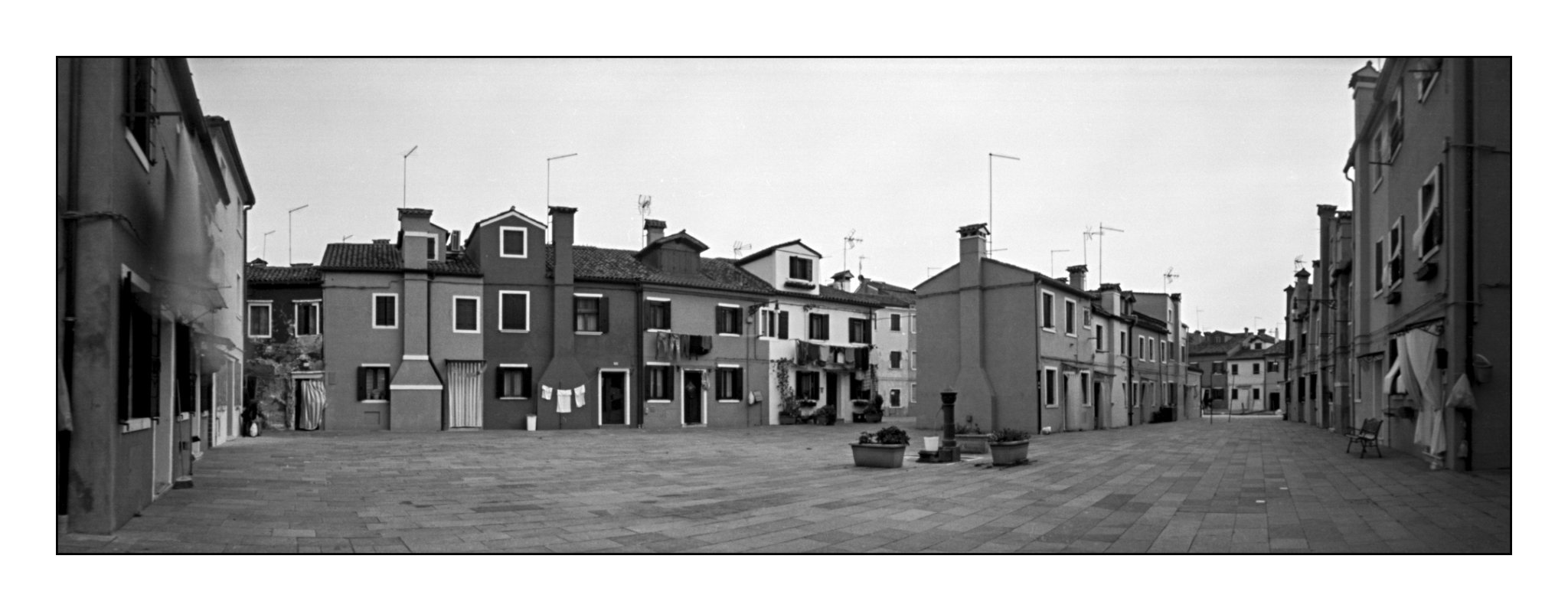 Lochkamera 16x7 analog: Burano, Fotograf: Steffen Lohse