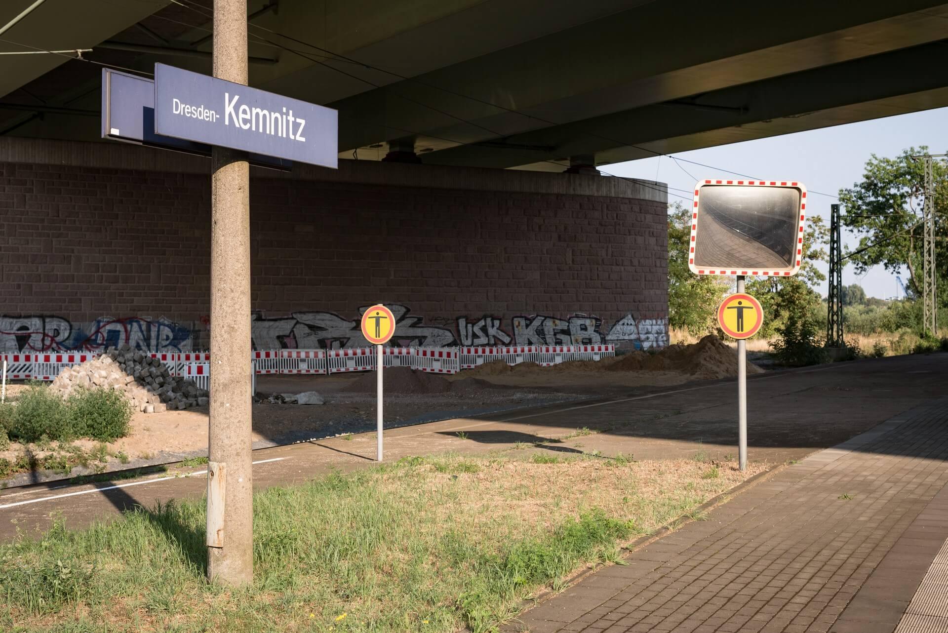 Dresden - Kemnitz - Bahnhof
