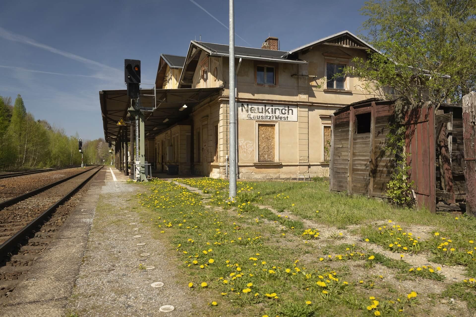Bahnhof Neukirch/West