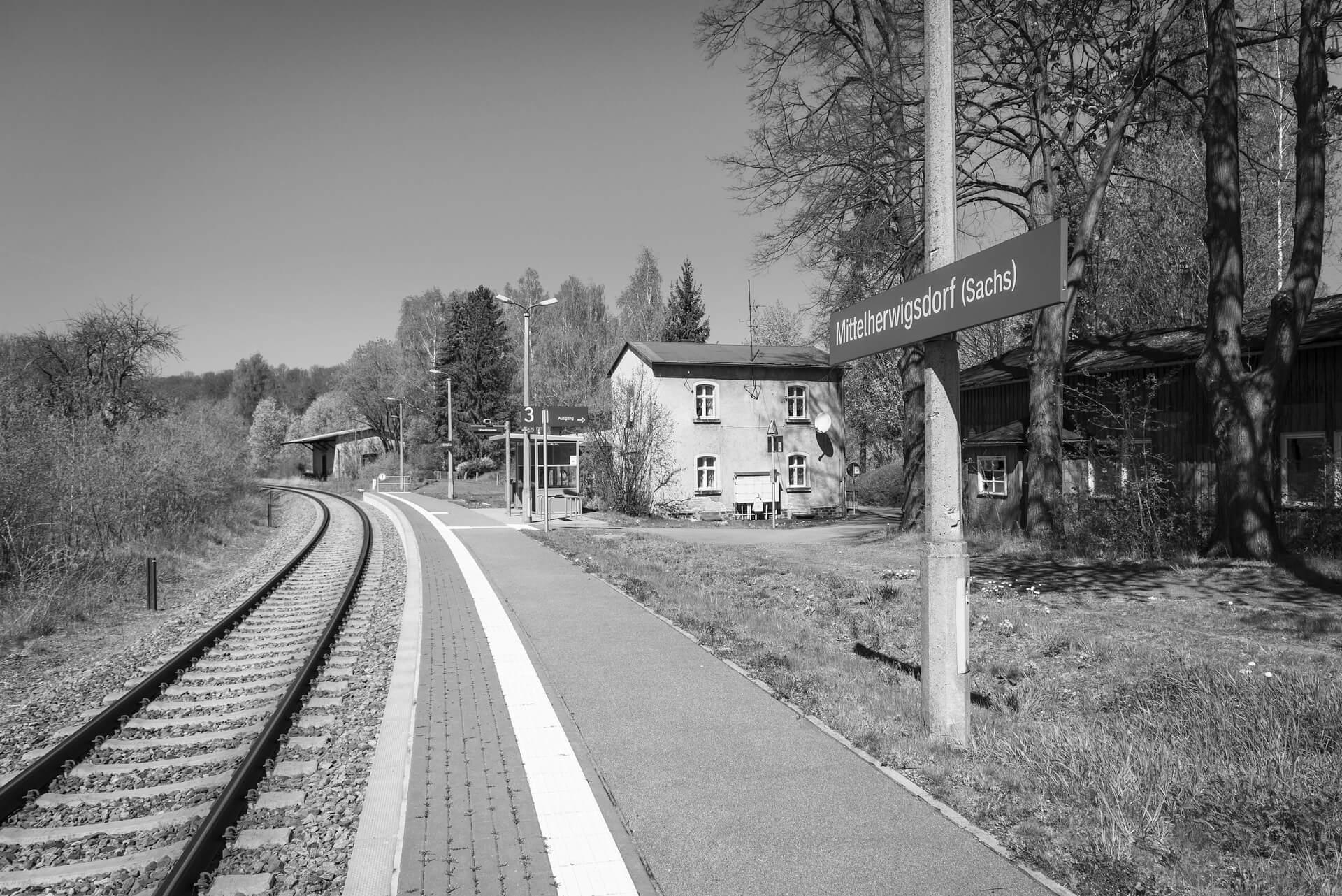 Bahnhof Mittelherwigsdorf