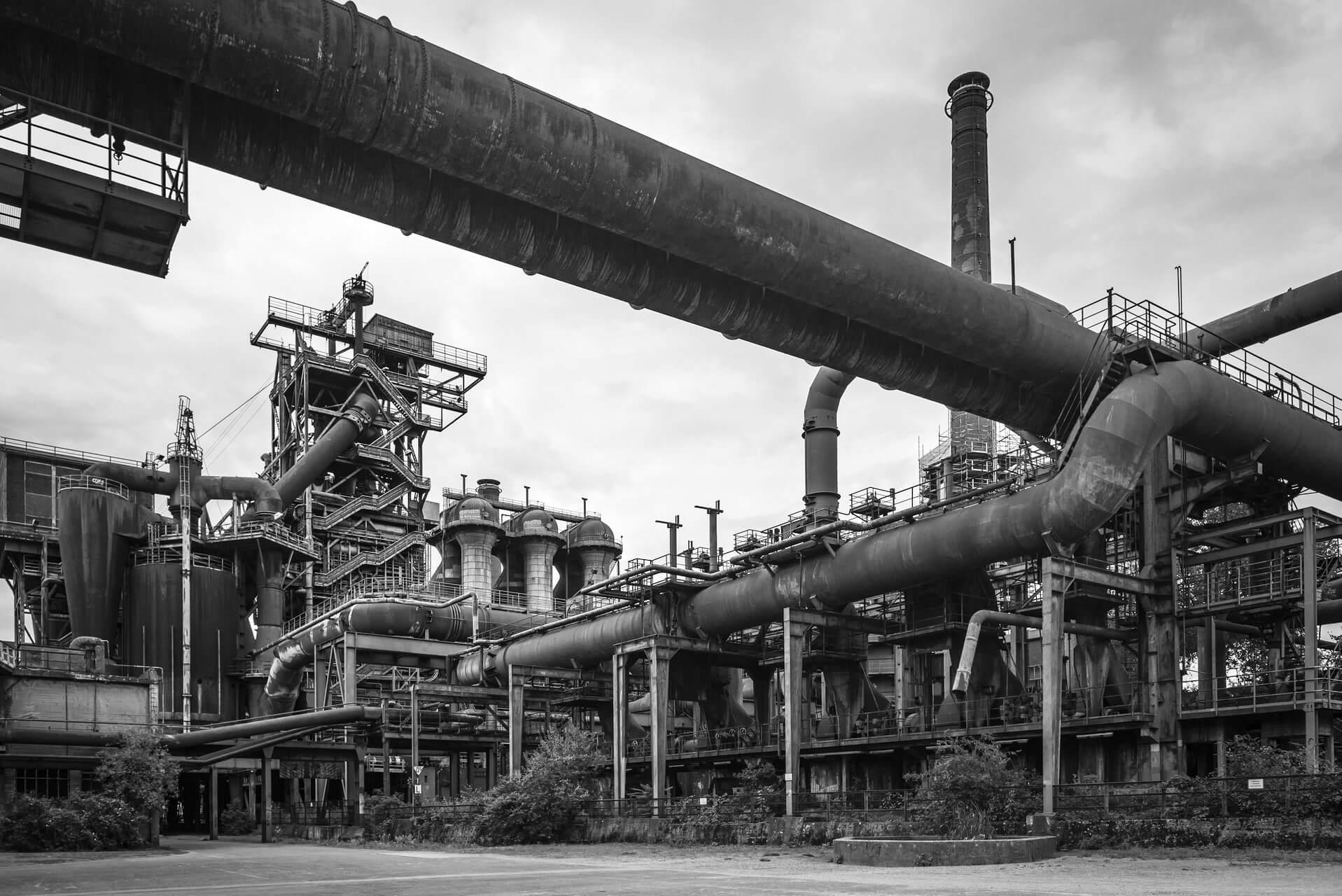 Ruhrgebiet, Industriekultur, Duisburg LaPaDu, Hochofen