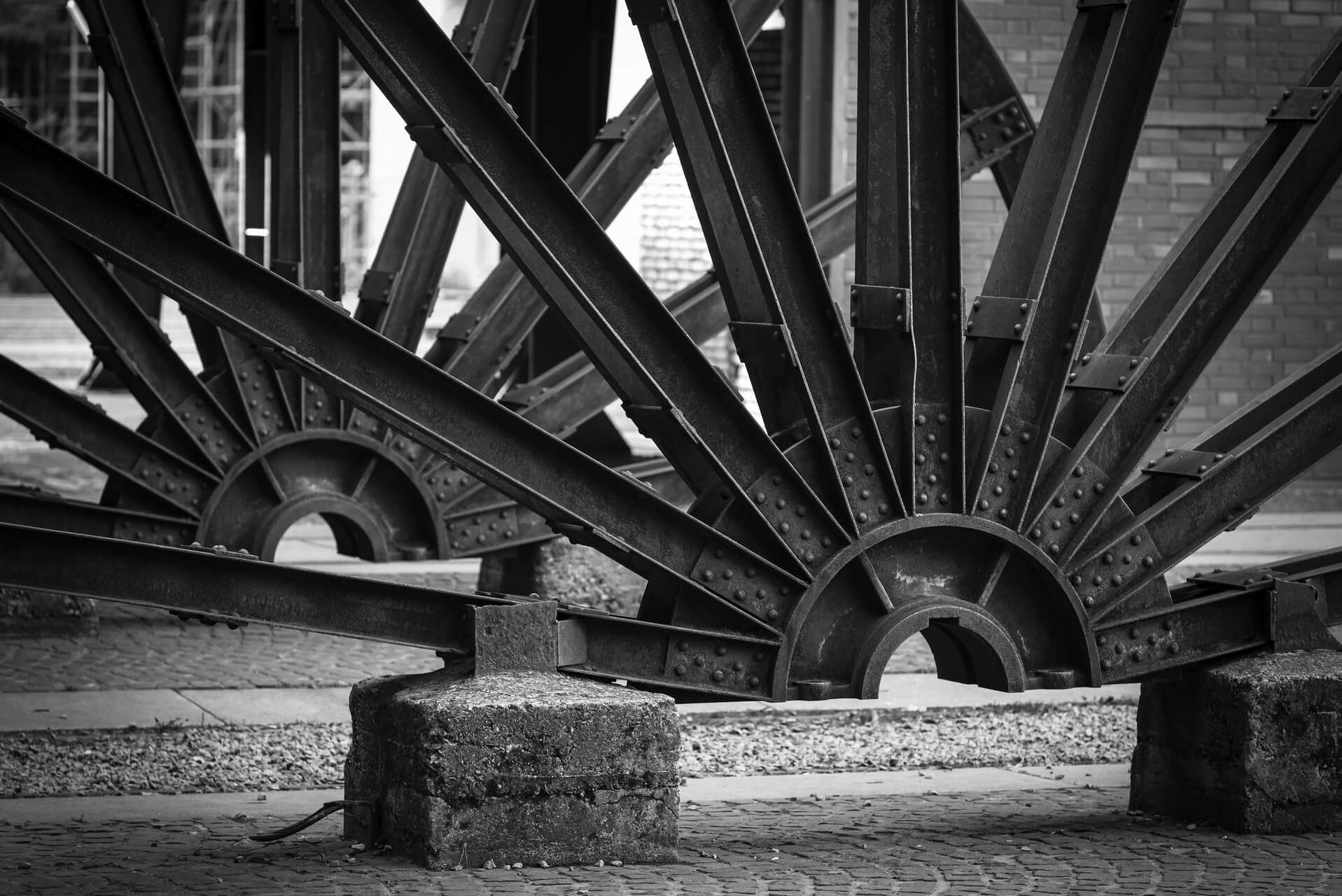 Ruhrgebiet, Industriekultur, Zeche Zollverein, Detail