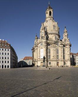 Dresden im Frühjahr 2020