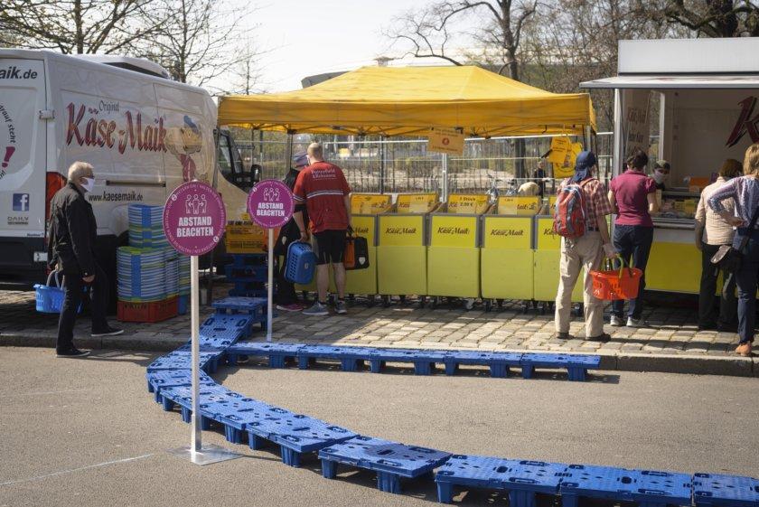 Dresden im Frühjahr 2020 – Menschen