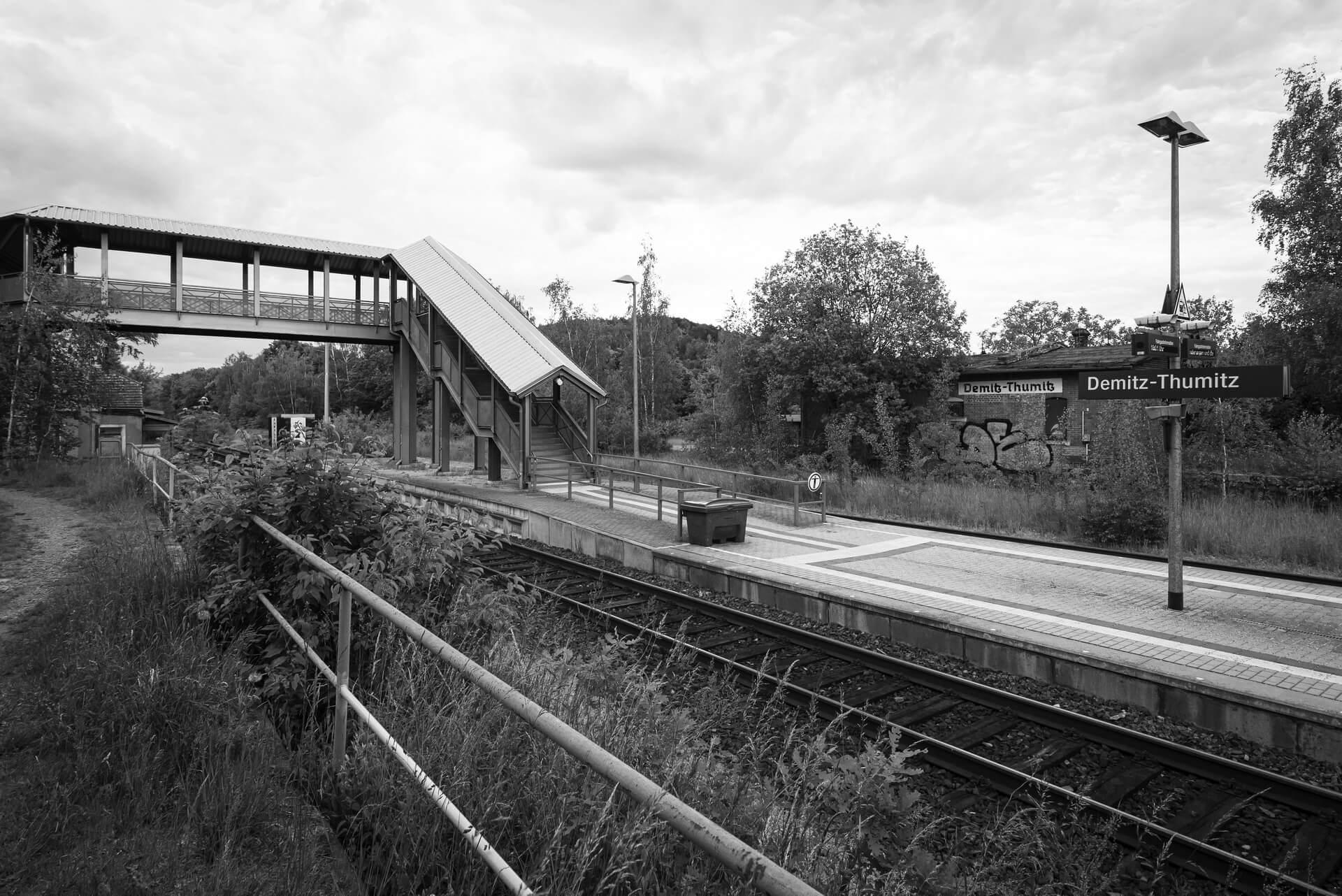 Demitz-Thumitz, Bahnhof