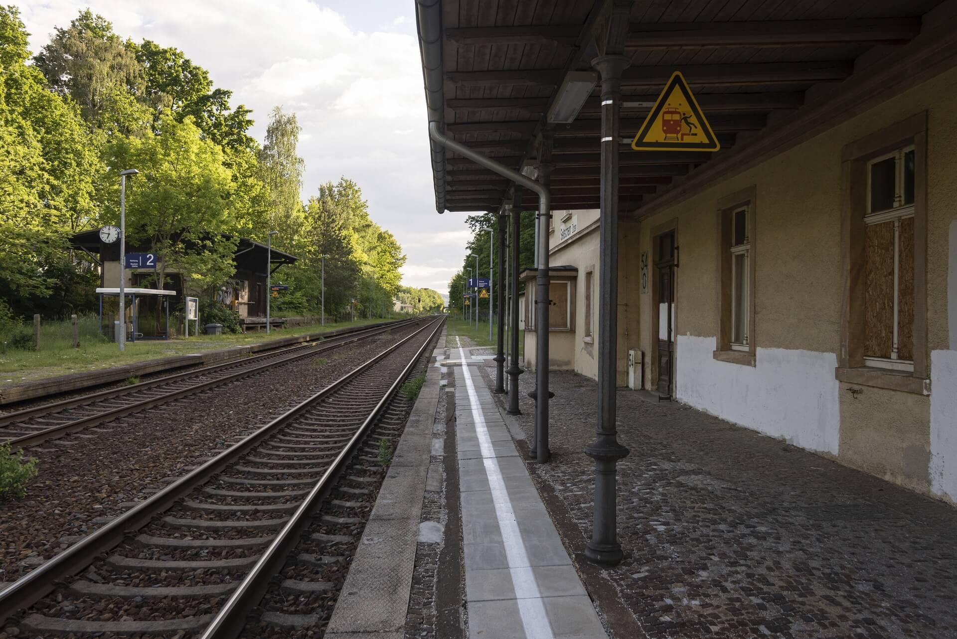 Seitschen, Bahnhof