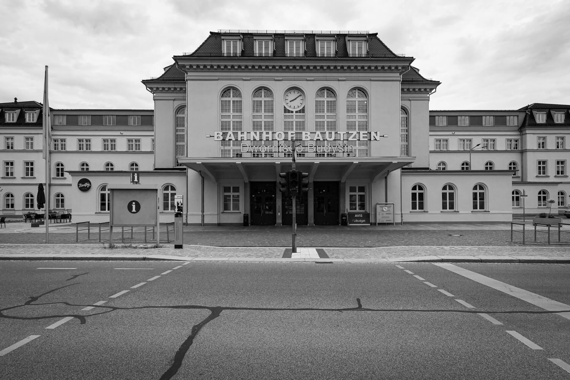 Bautzen, Bahnhof