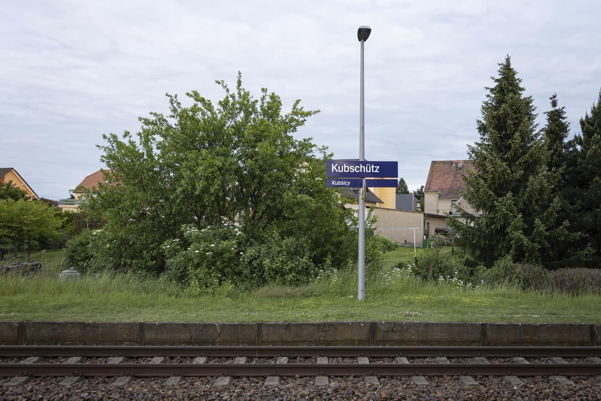 Kubschütz, Bahnhof