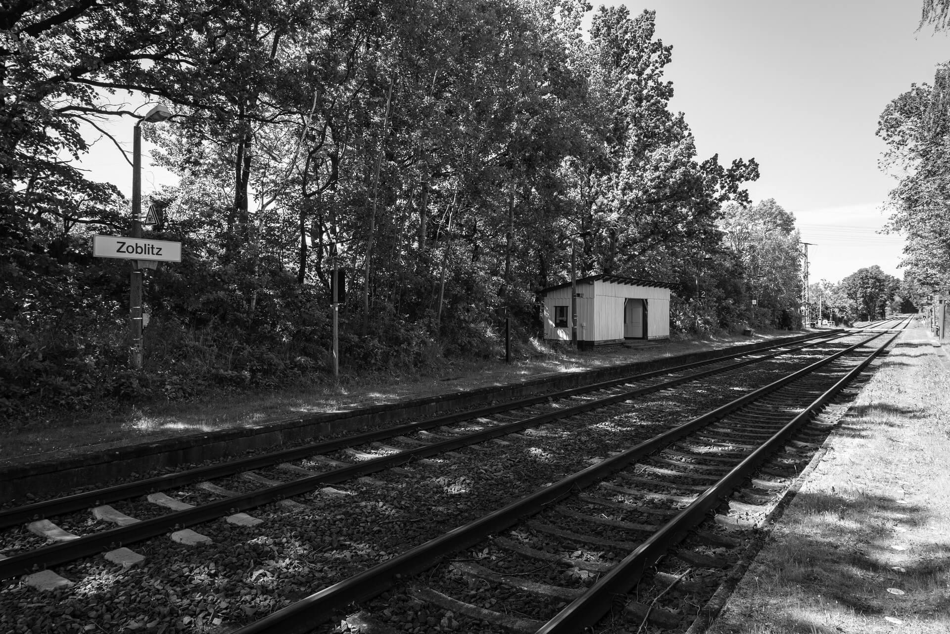 Zoblitz, Bahnhof