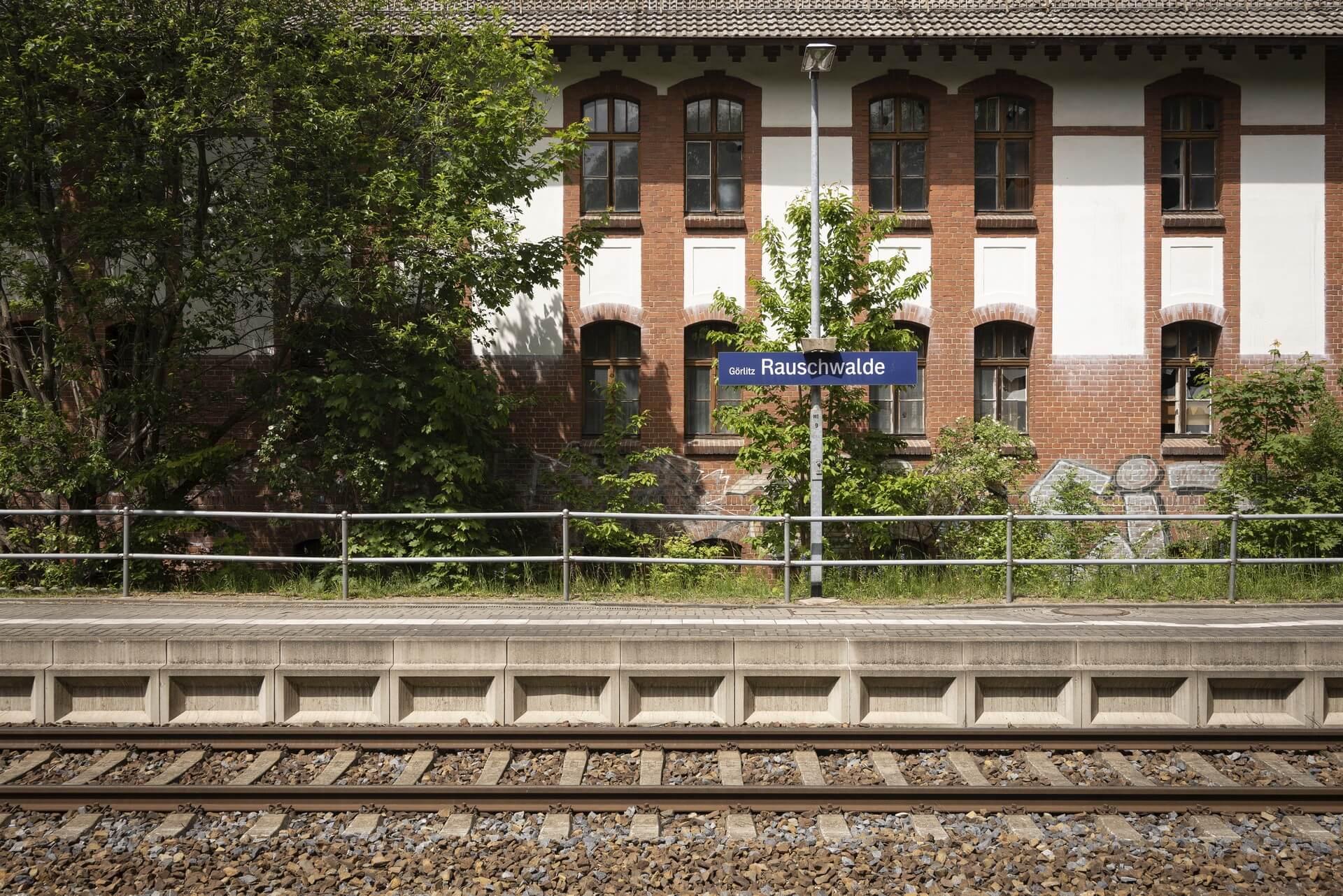 Görlitz-Rauschwalde, Bahnhof
