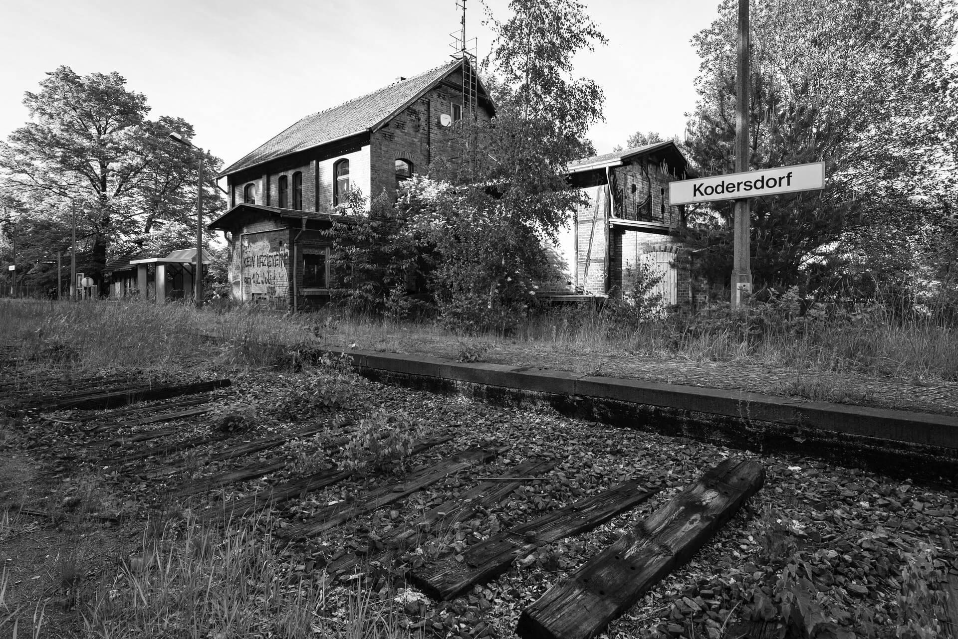 Kodersdorf, Bahnhof