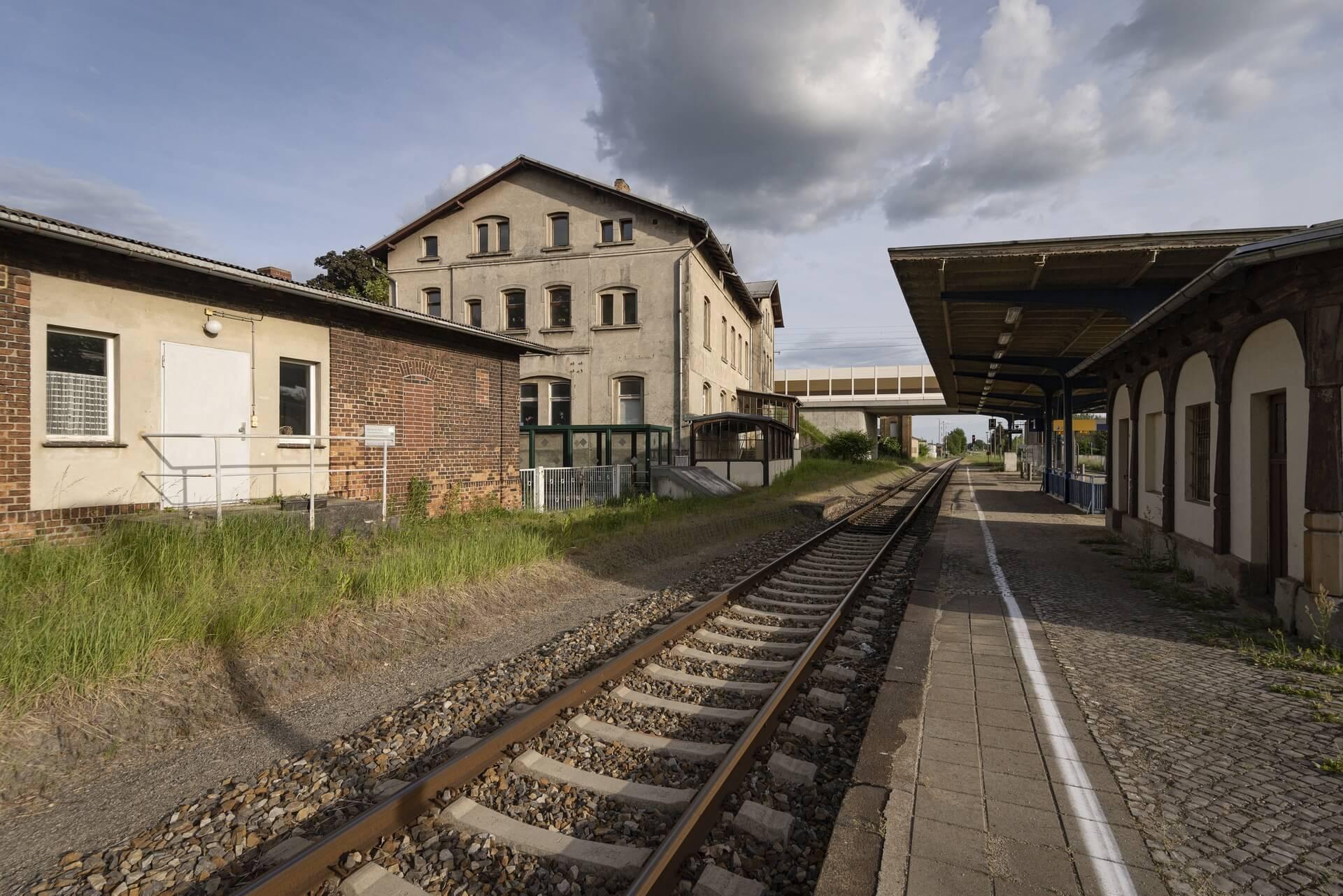 Horka, Bahnhof