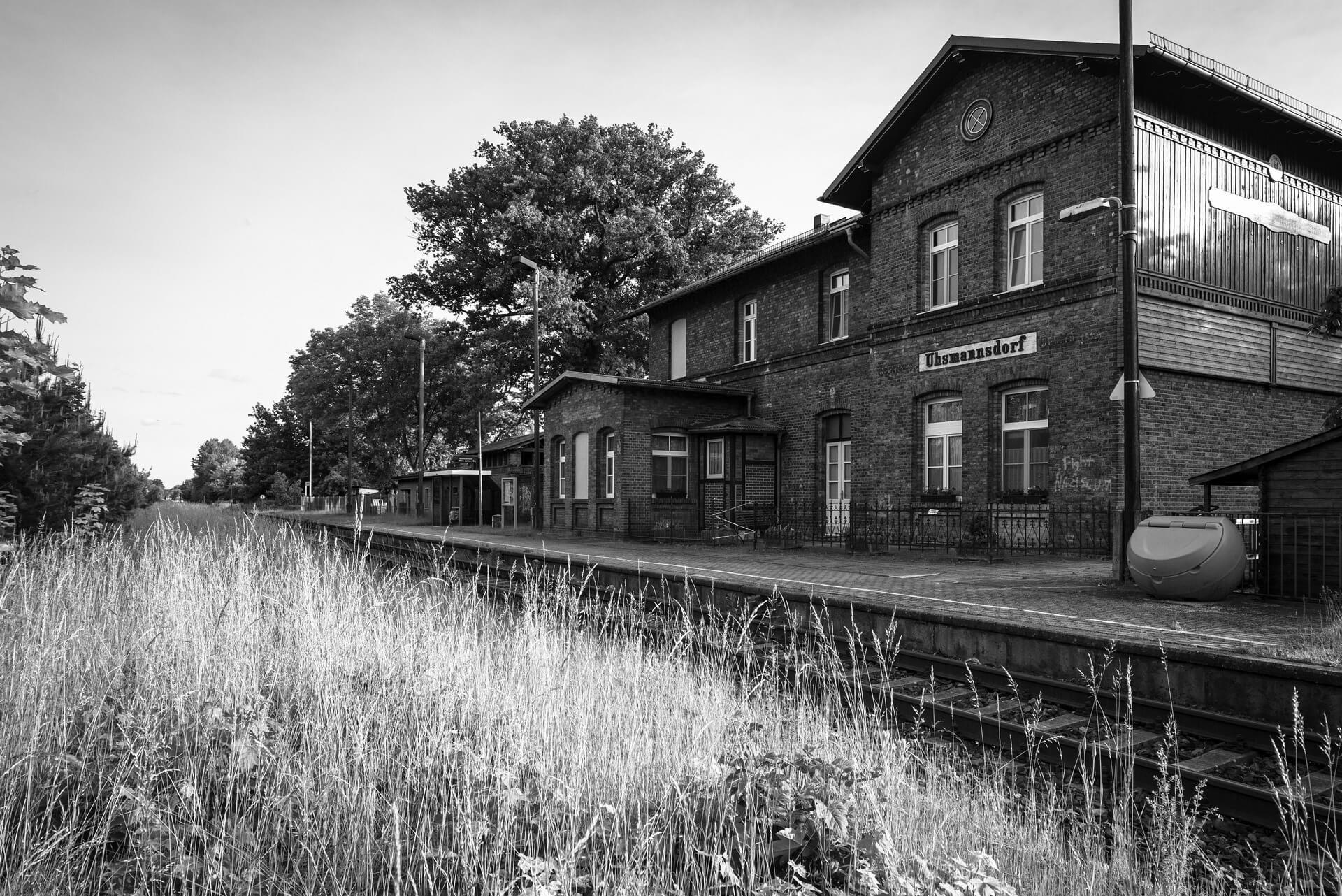Uhsmannsdorf, Bahnhof