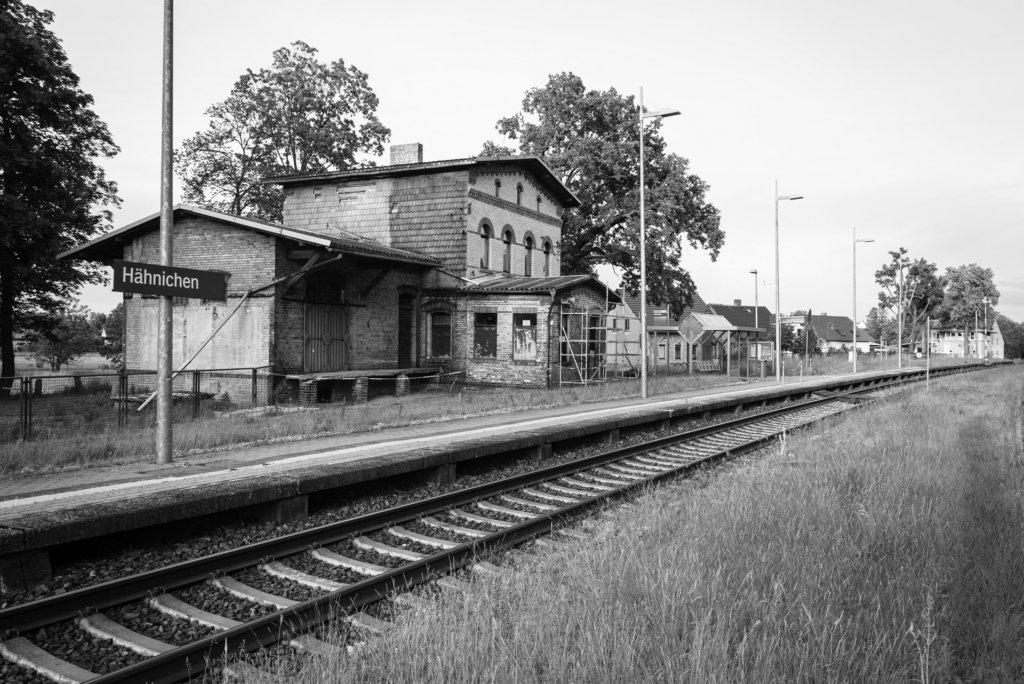Hähnichen, Bahnhof