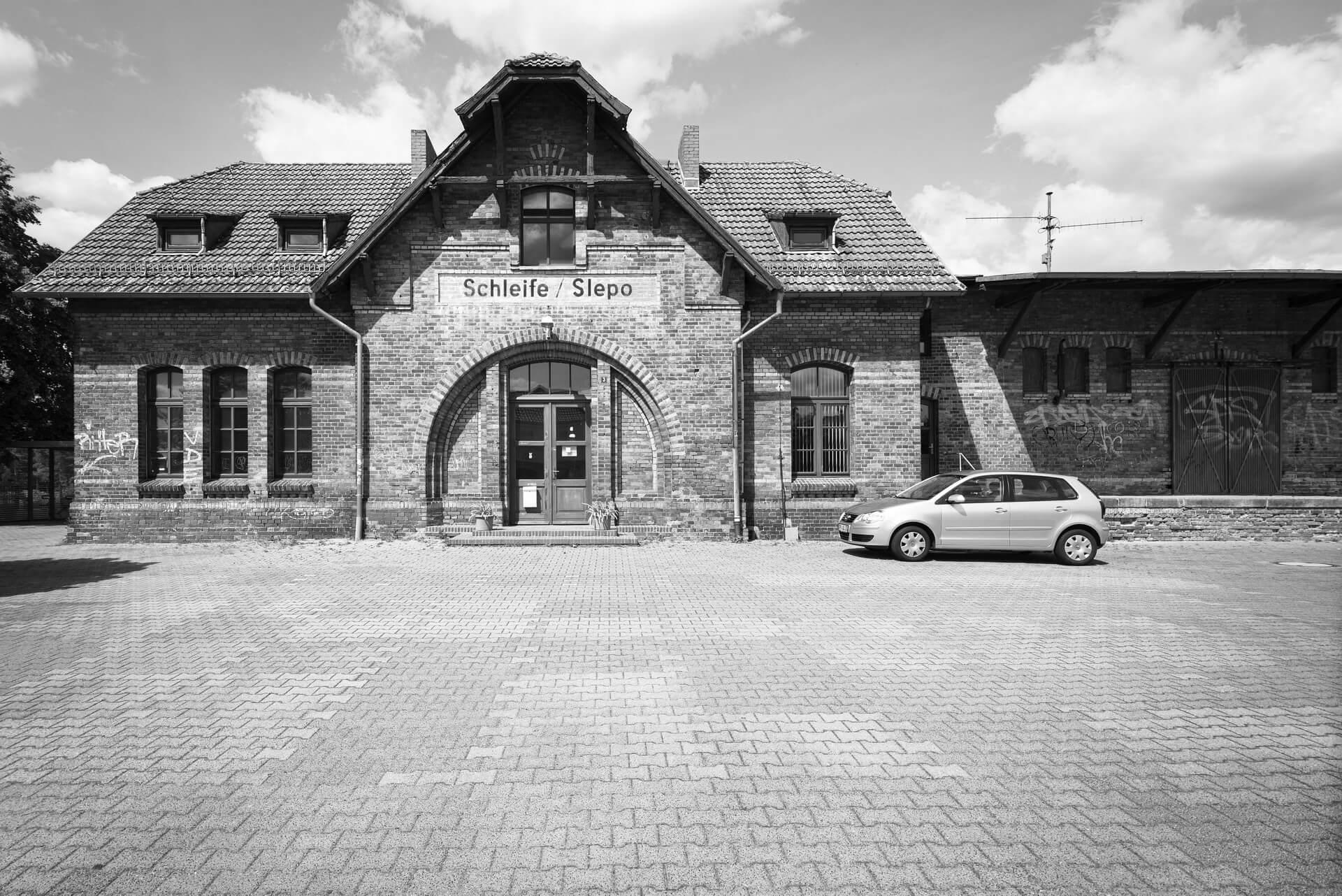 Schleife, Bahnhof