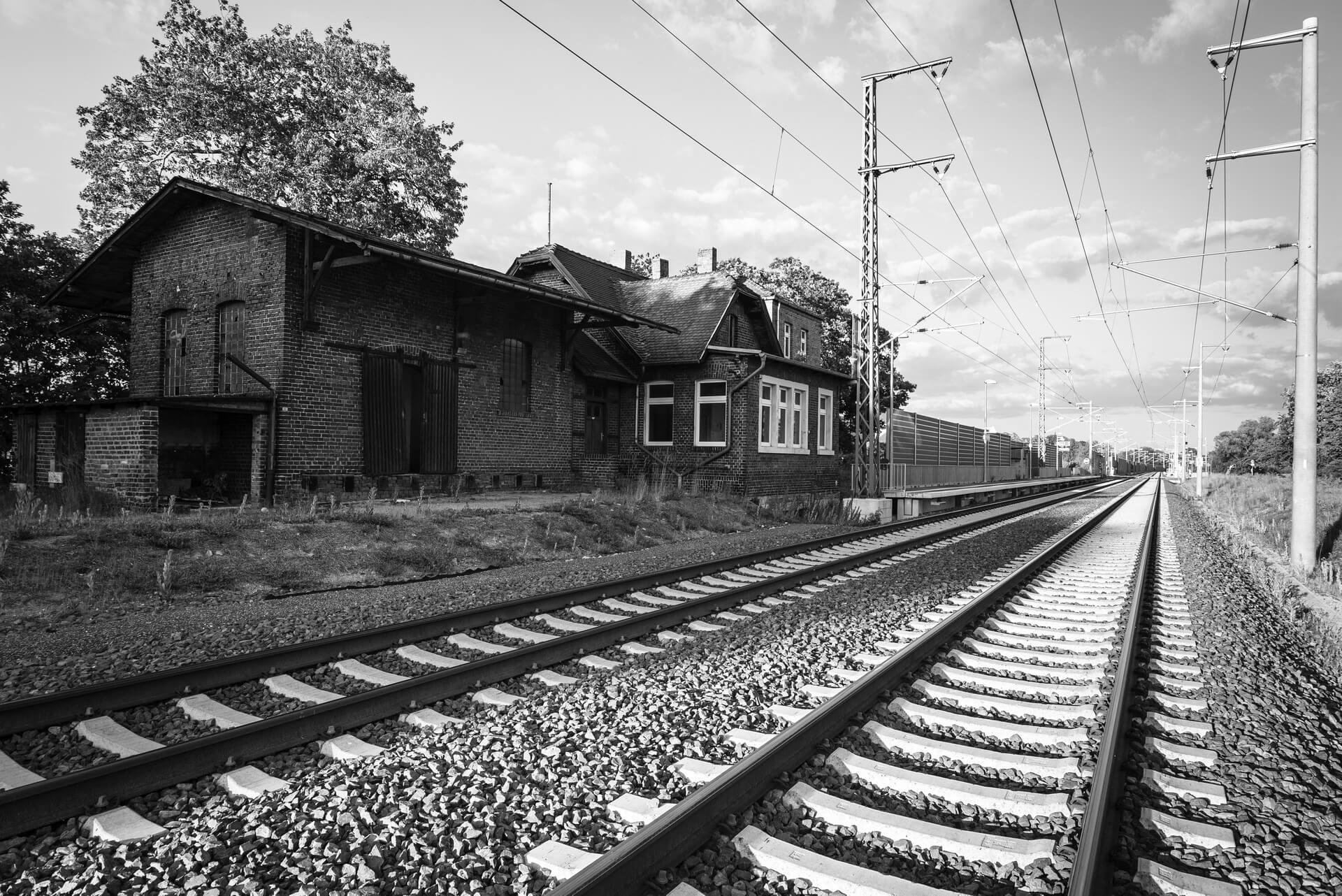 Klitten, Bahnhof