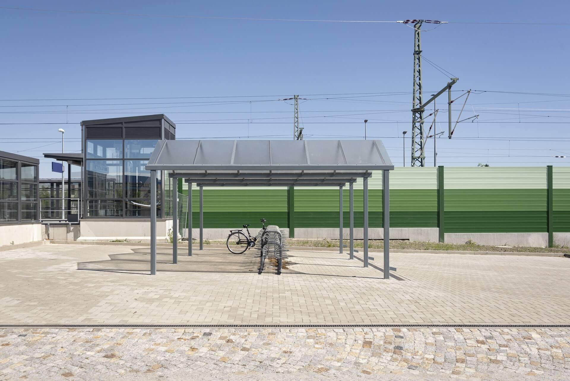 Niesky, am Bahnhof